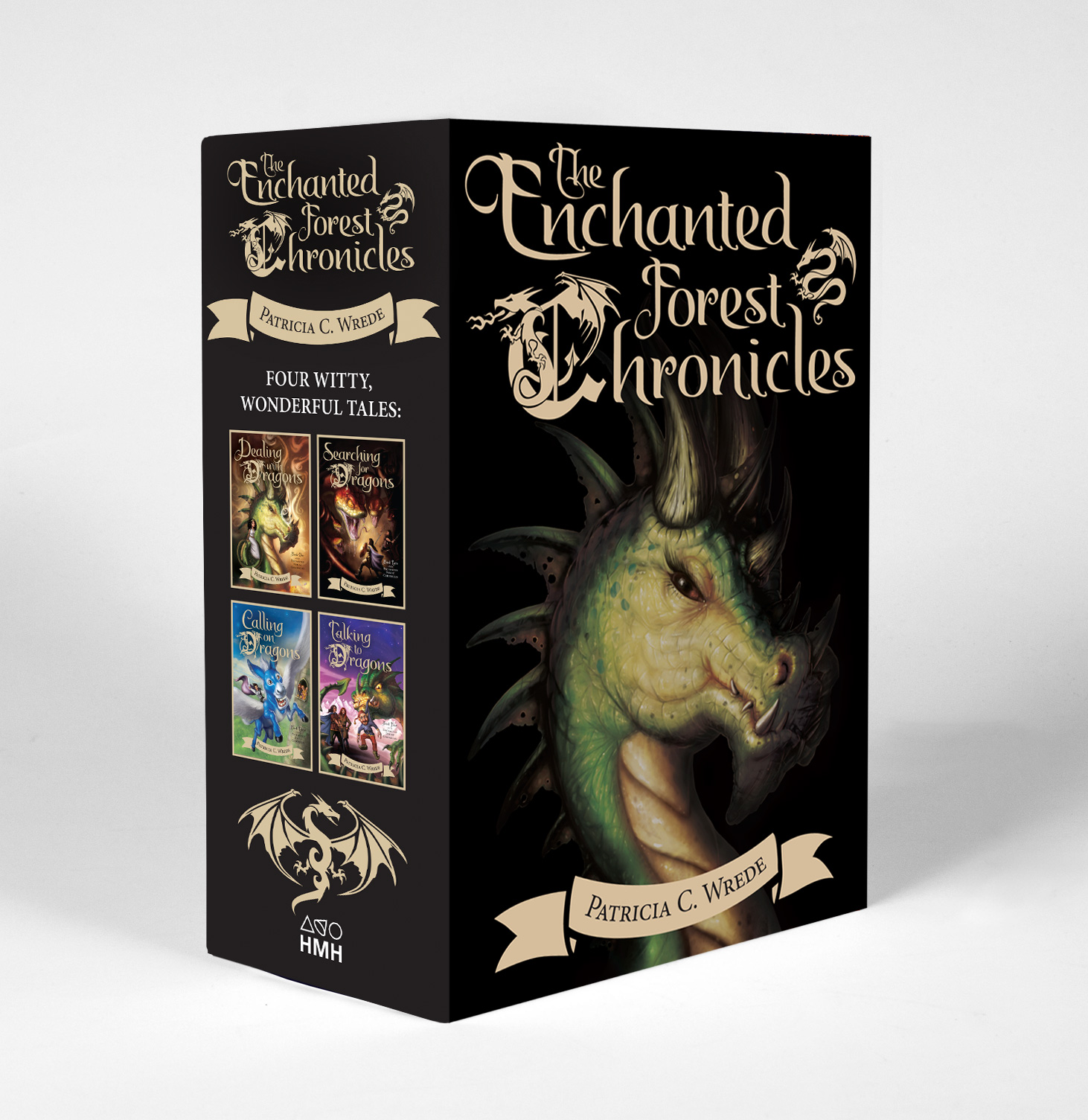 The Enchanted Forest Chronicles-9780544542648