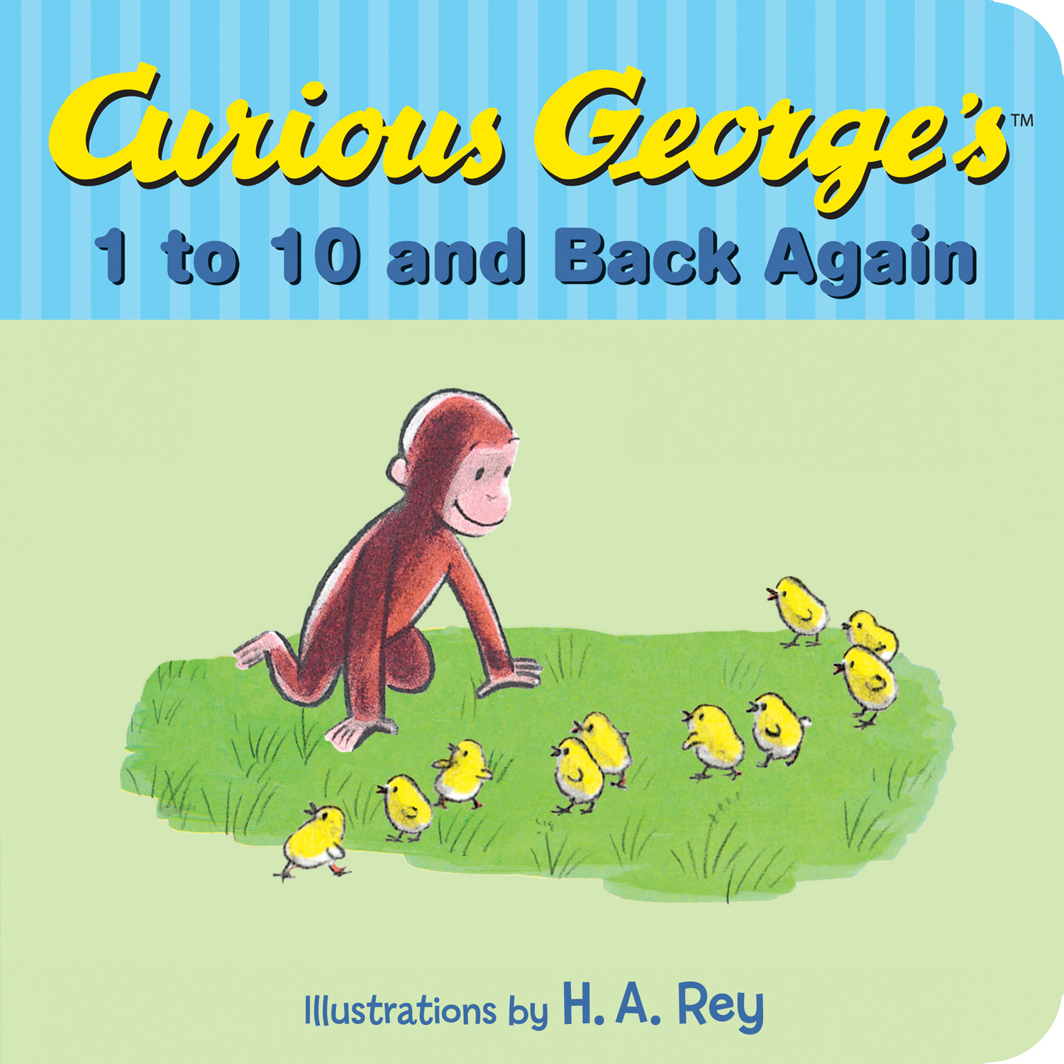 Curious George's 1 to 10 and Back Again-9780544547667