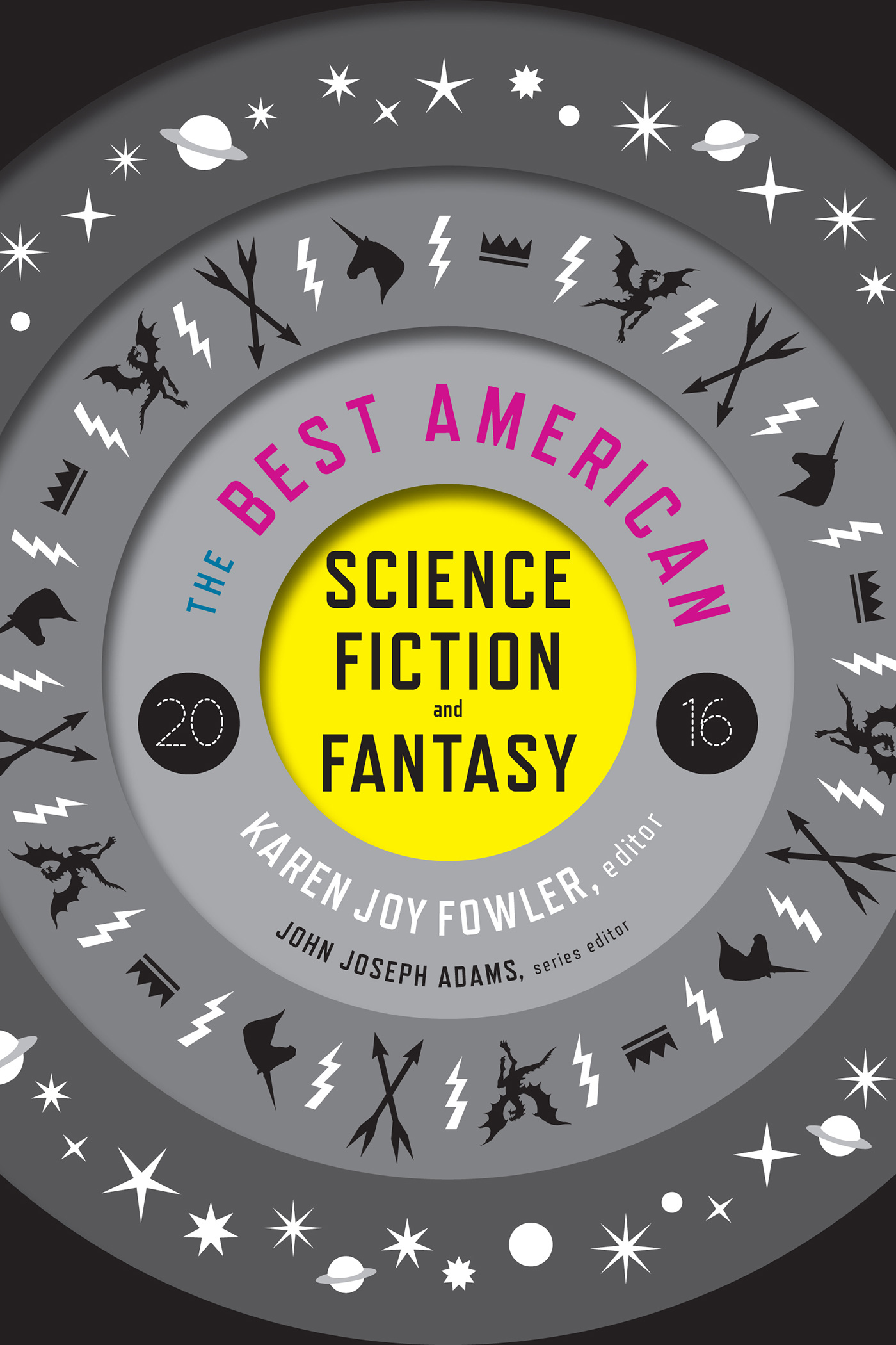 The Best American Science Fiction and Fantasy 2016-9780544555204