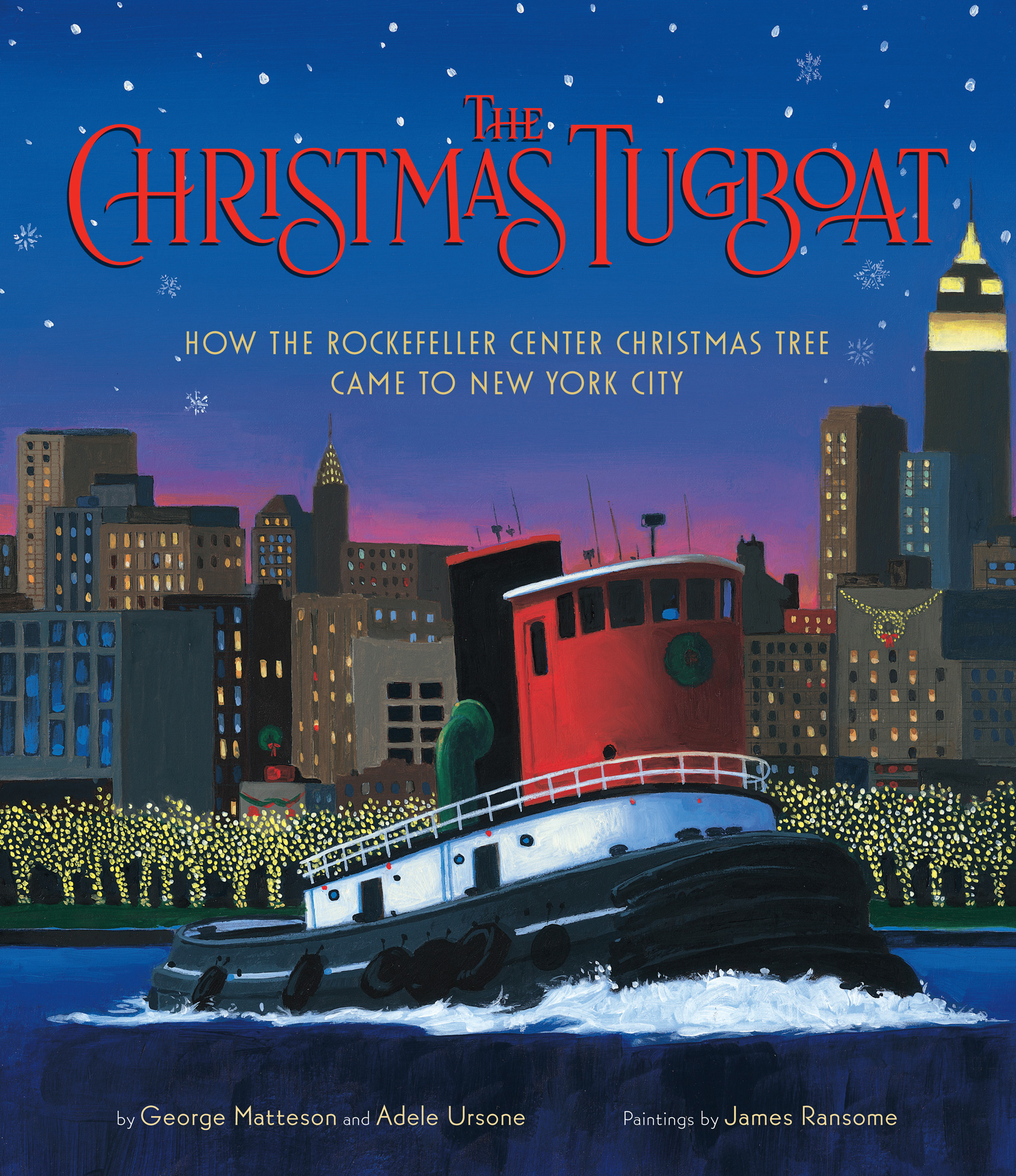 The Christmas Tugboat-9780544555488
