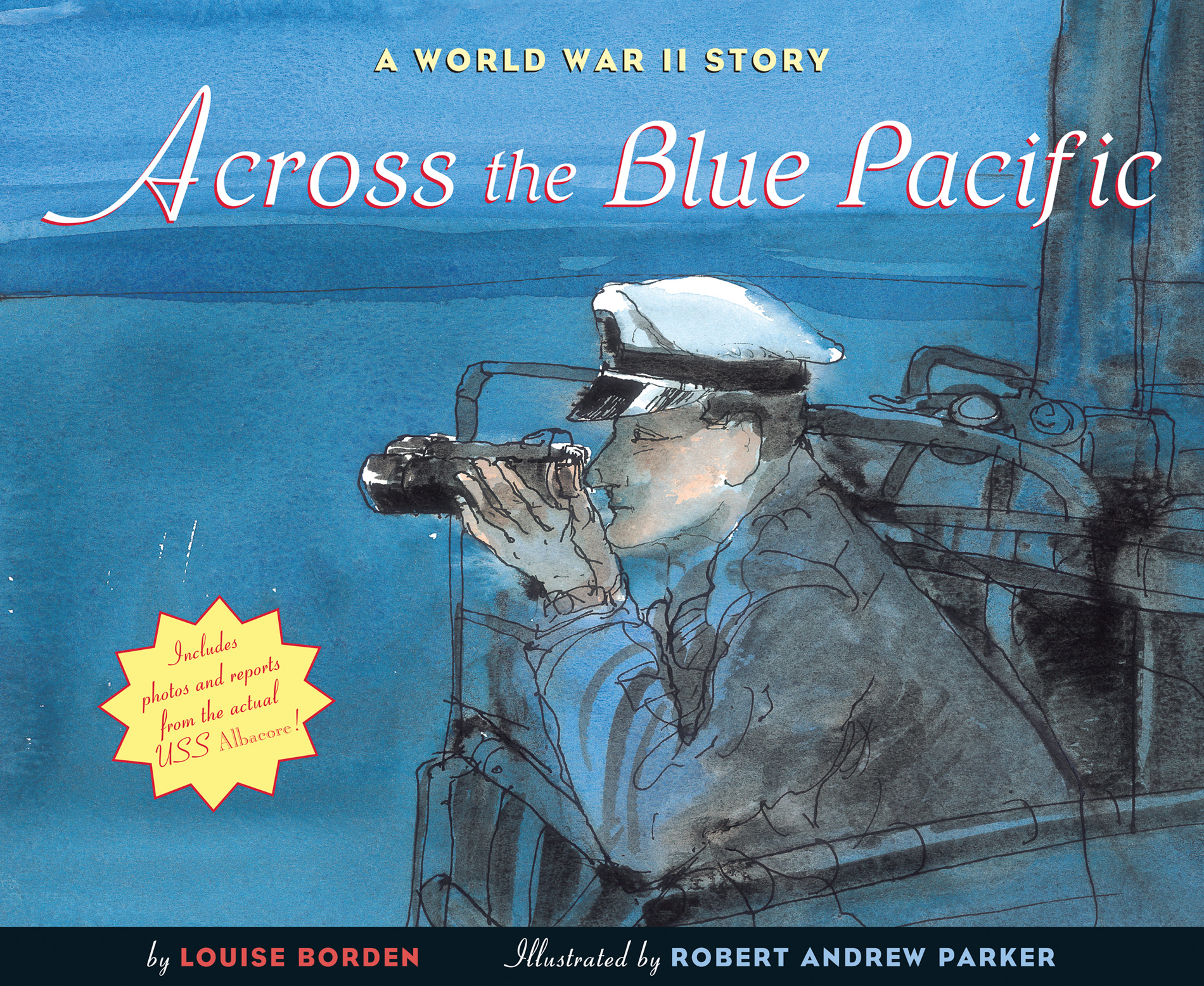 Across the Blue Pacific-9780544555525