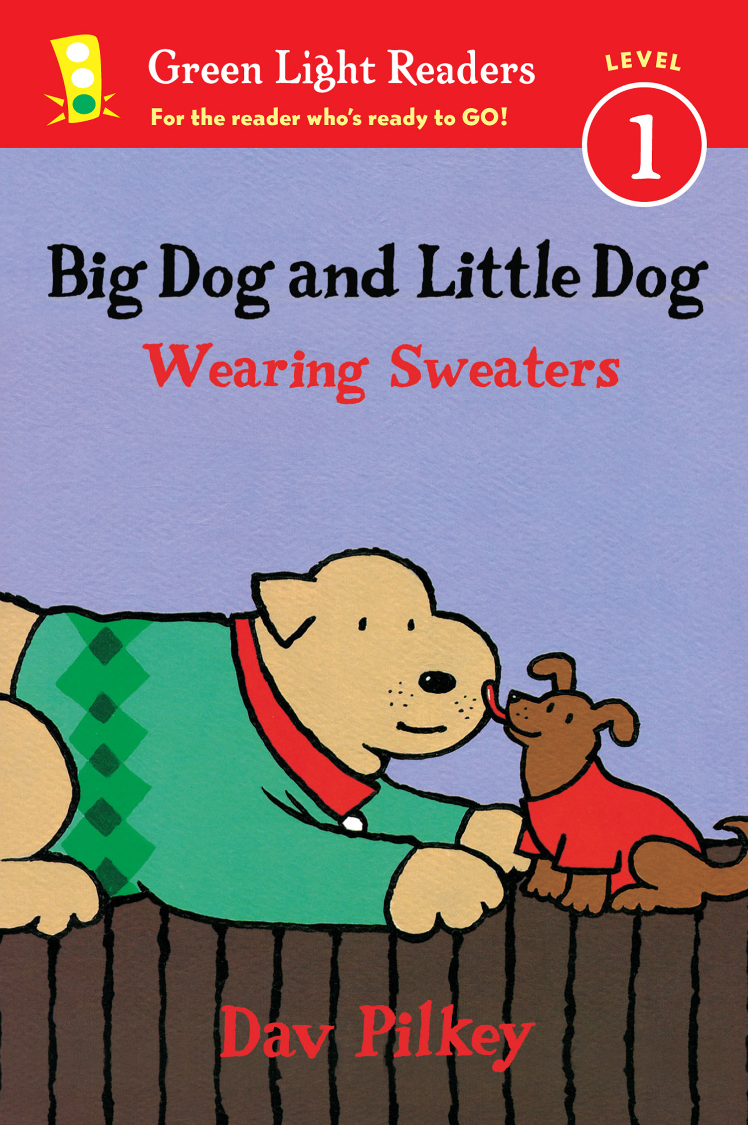 Big Dog and Little Dog Wearing Sweaters (Reader)-9780544562370