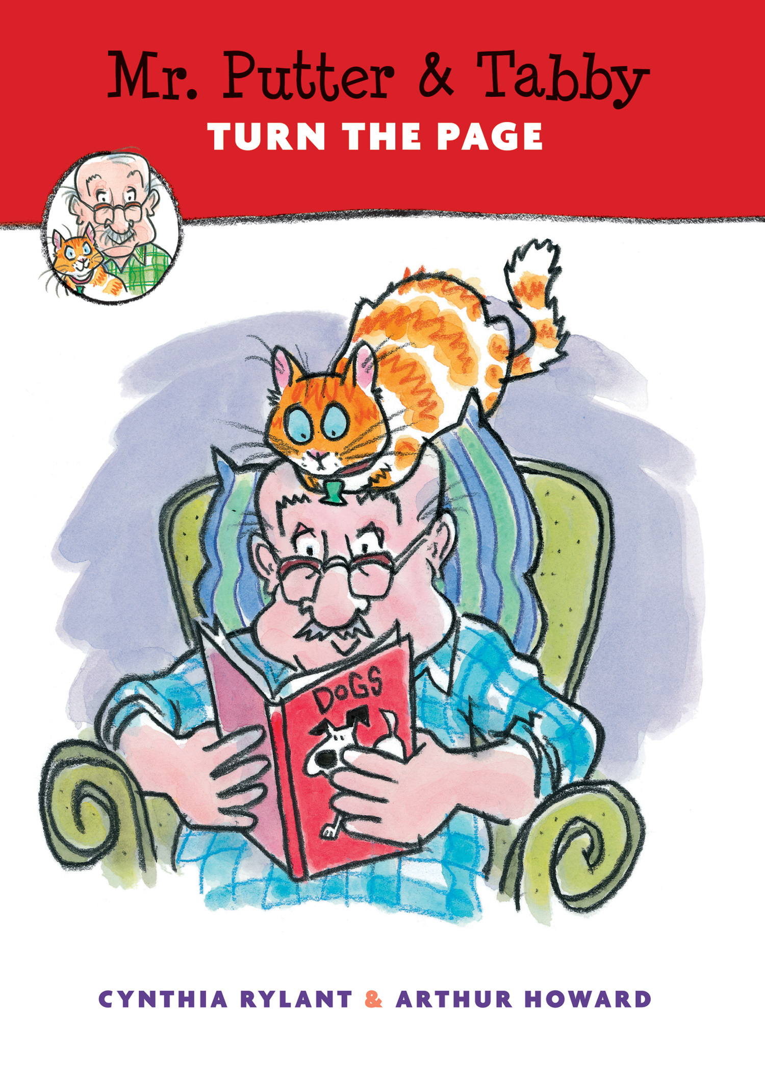 Mr. Putter & Tabby Turn the Page-9780544582323