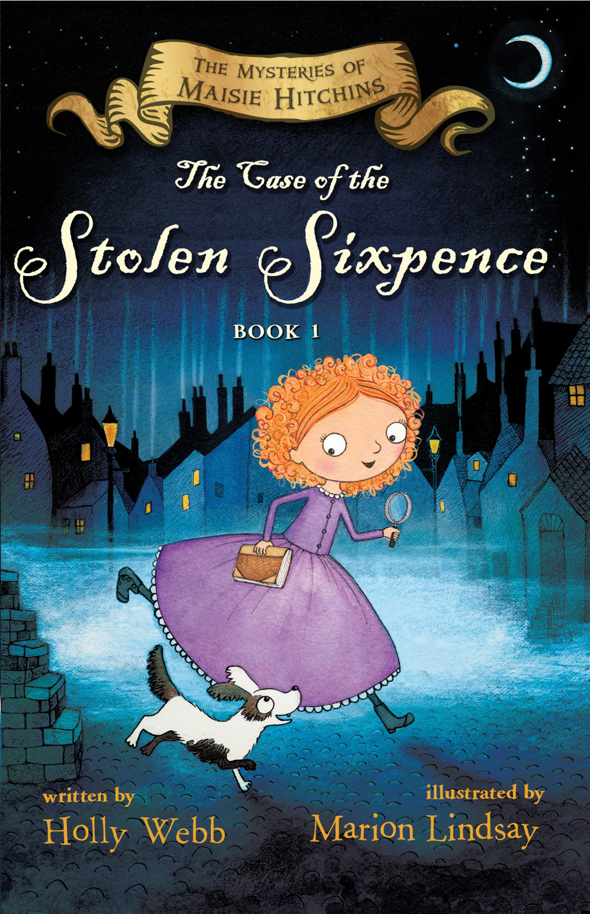 The Case of the Stolen Sixpence-9780544582347