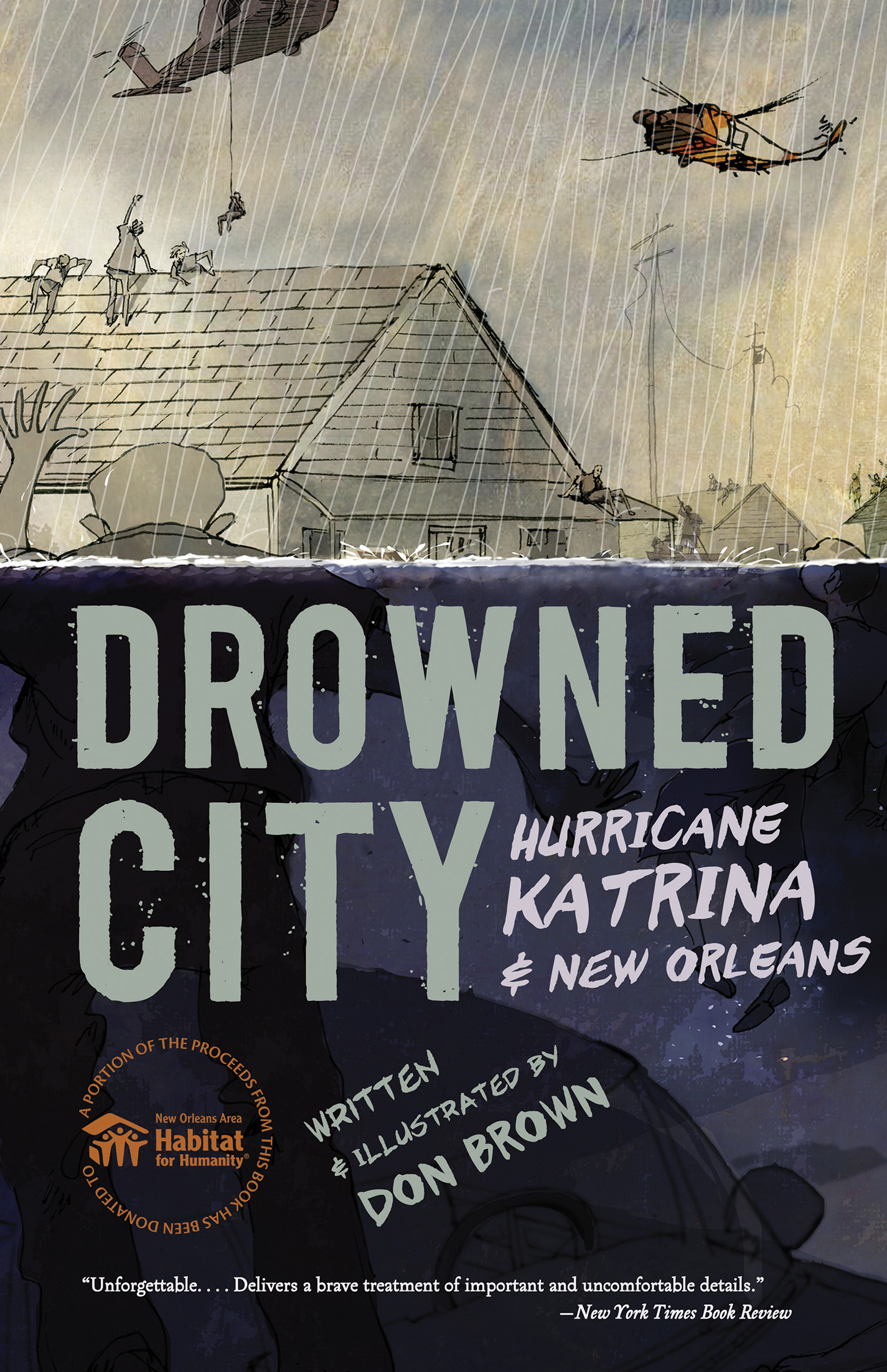 Drowned City-9780544586178