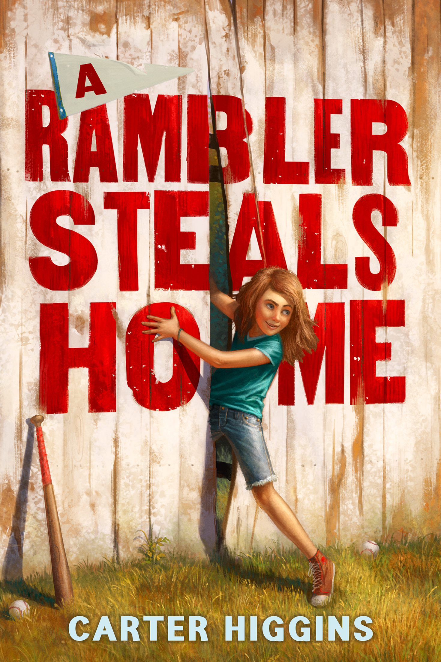 A Rambler Steals Home-9780544602014