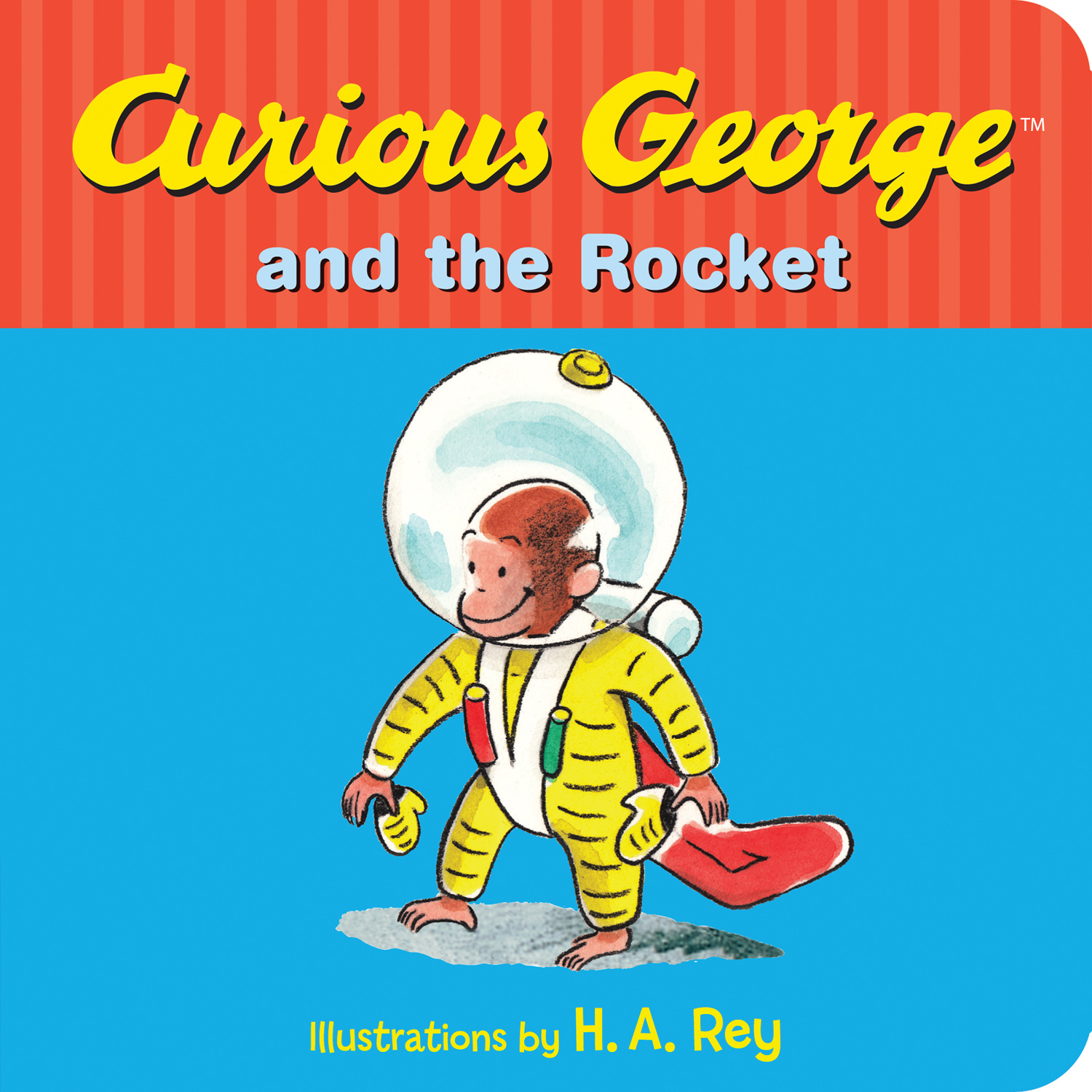 Curious George and the Rocket-9780544610958
