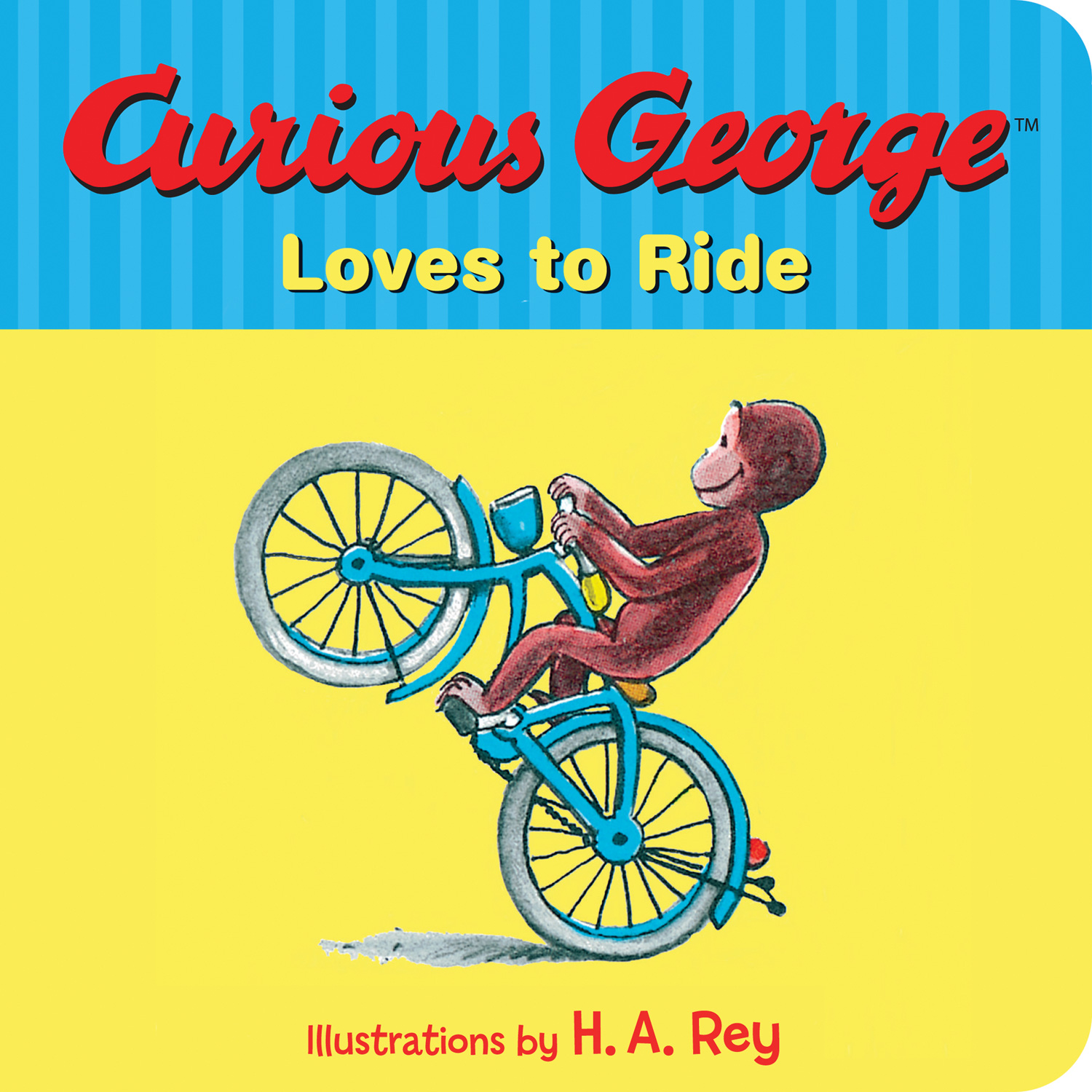 Curious George Loves to Ride-9780544611023