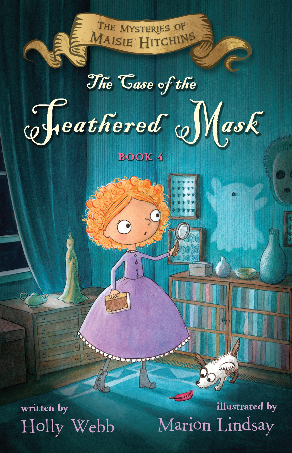The Case of the Feathered Mask-9780544619937