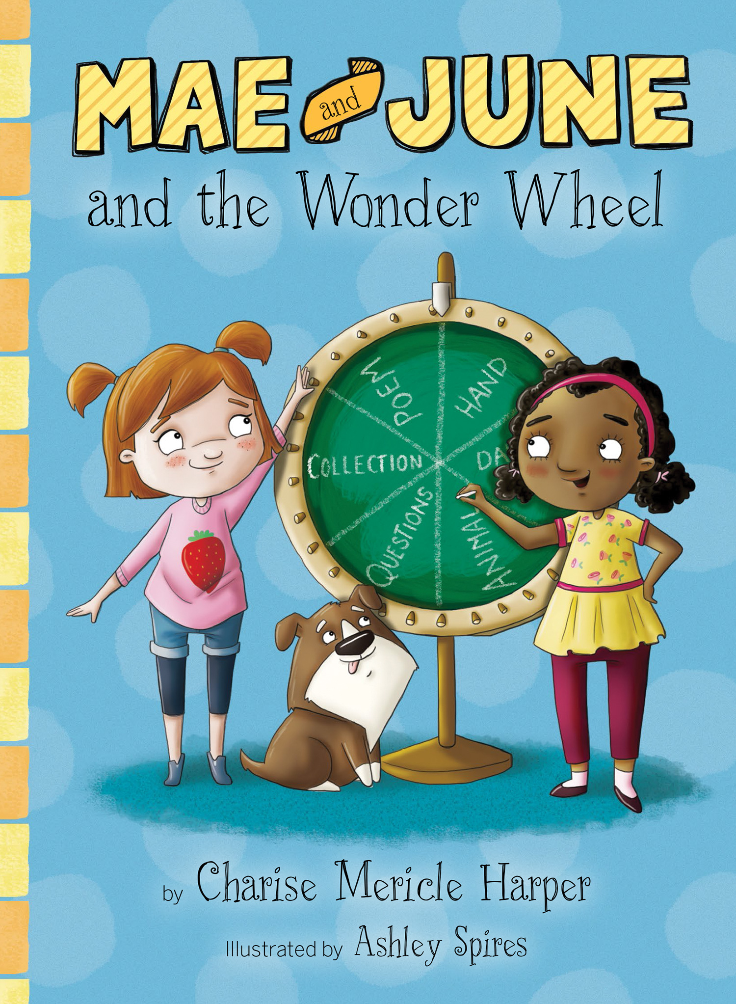 Mae and June and the Wonder Wheel-9780544630635