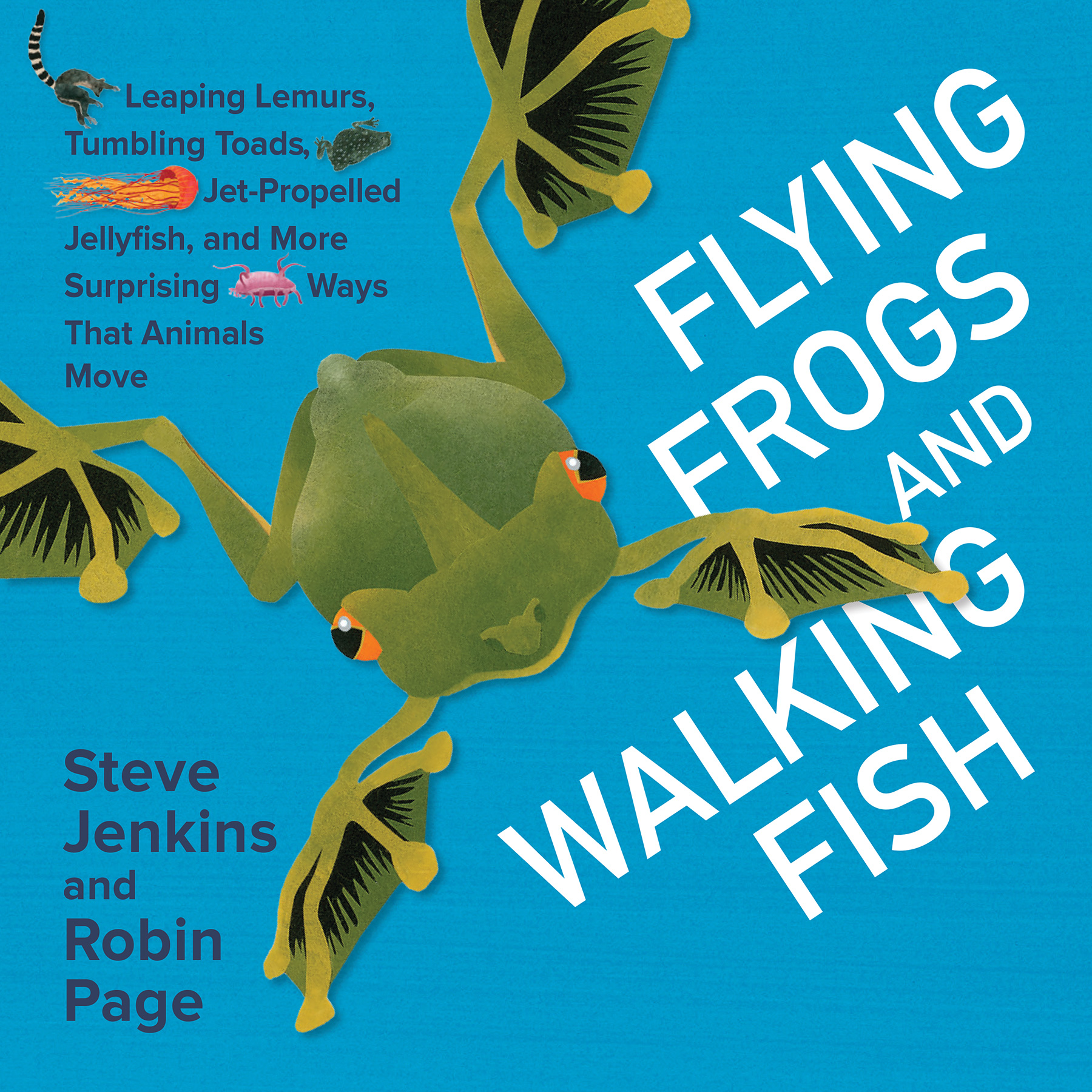 Flying Frogs and Walking Fish-9780544630901