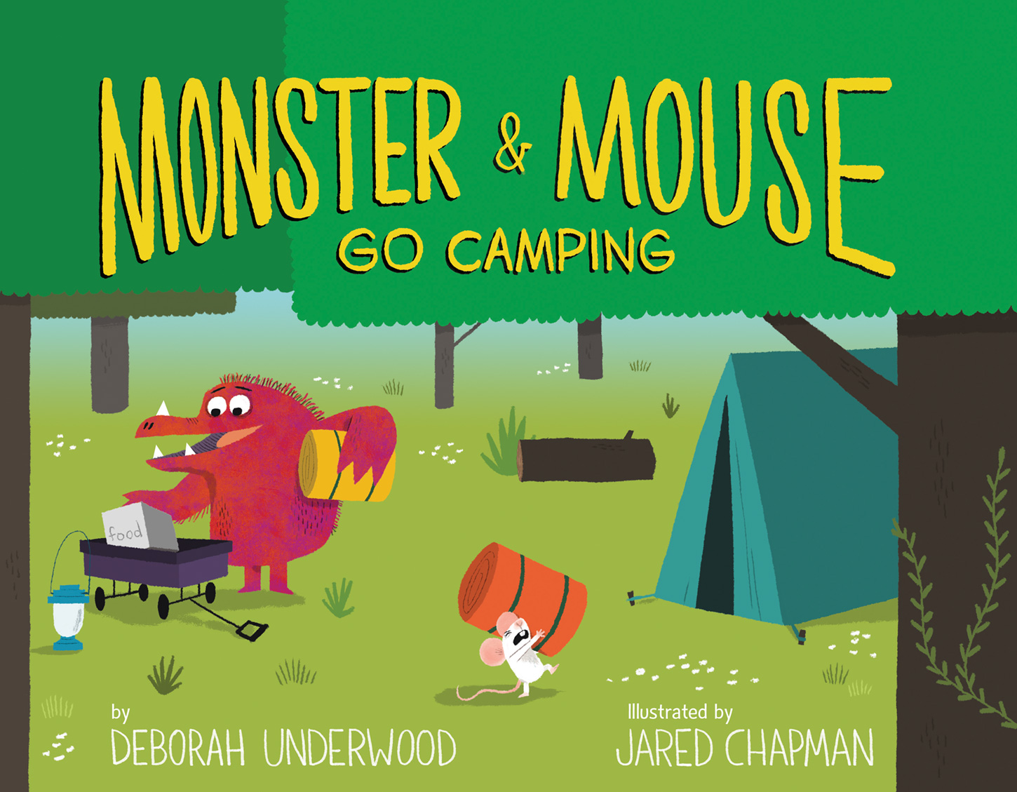 Monster and Mouse Go Camping-9780544648326