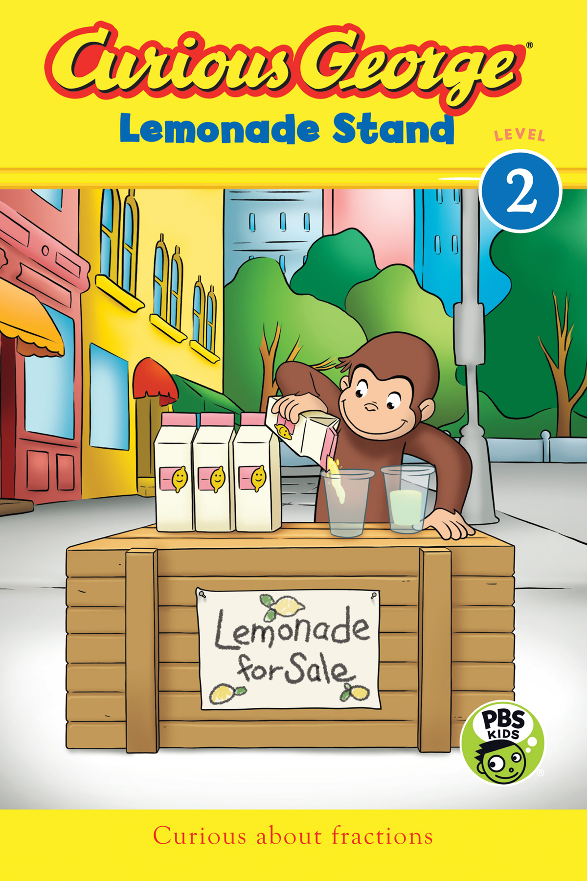 Curious George Lemonade Stand (CGTV Reader)-9780544652217