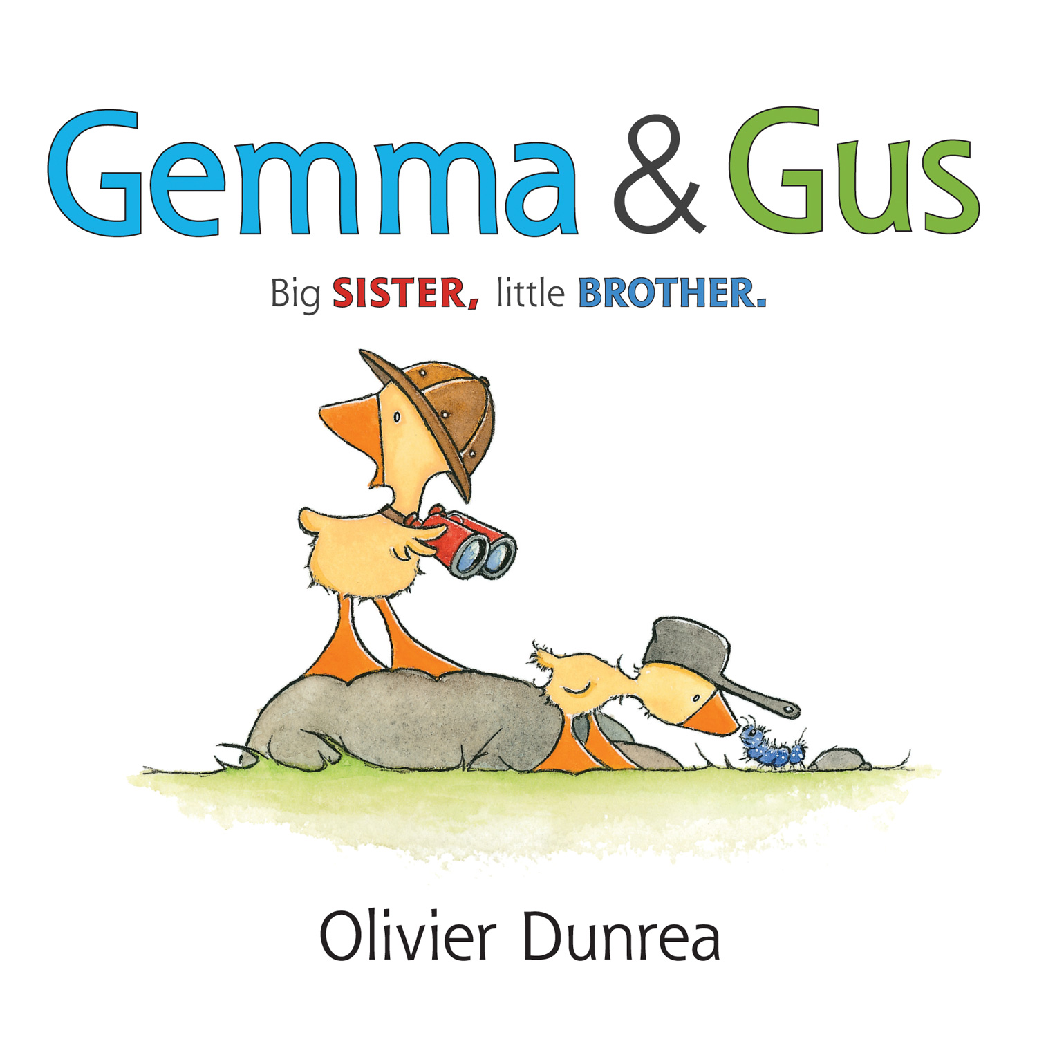 Gemma & Gus (board book)-9780544656475