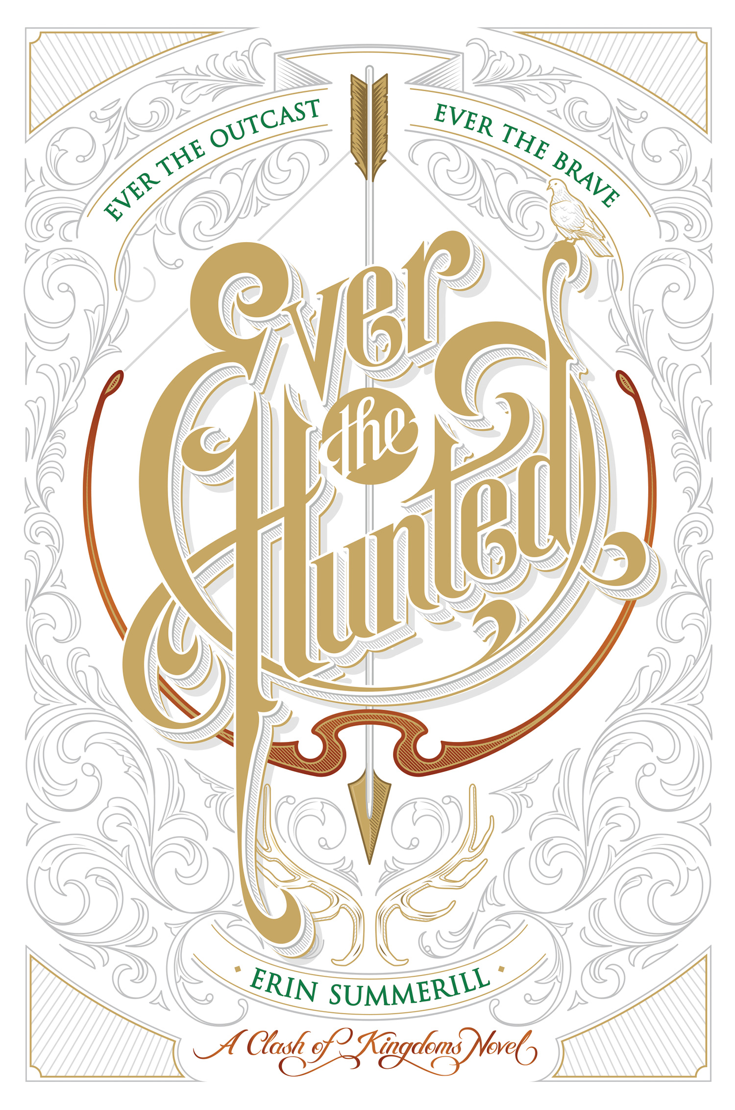 Ever the Hunted-9780544664456