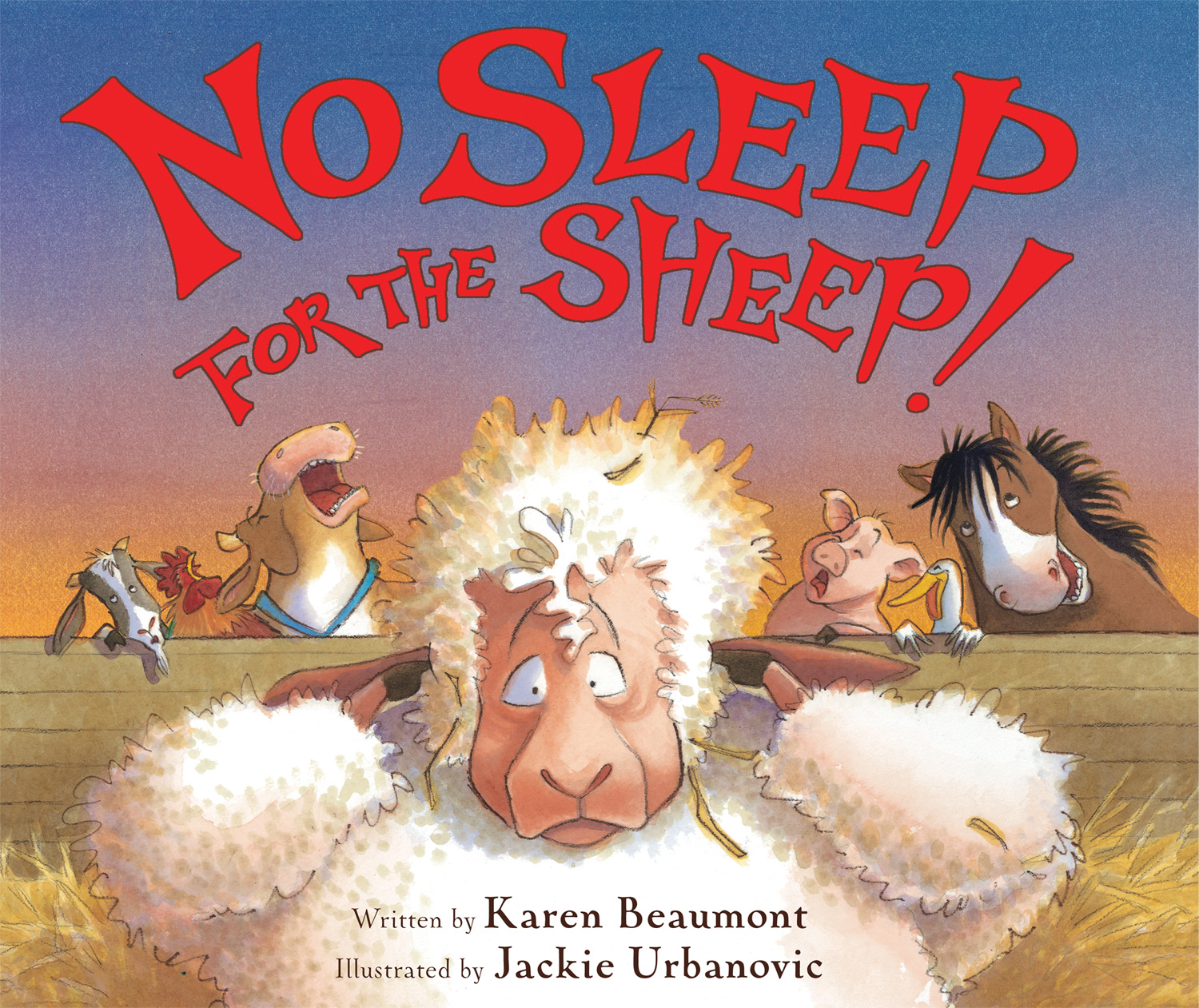 No Sleep for the Sheep!-9780544668348