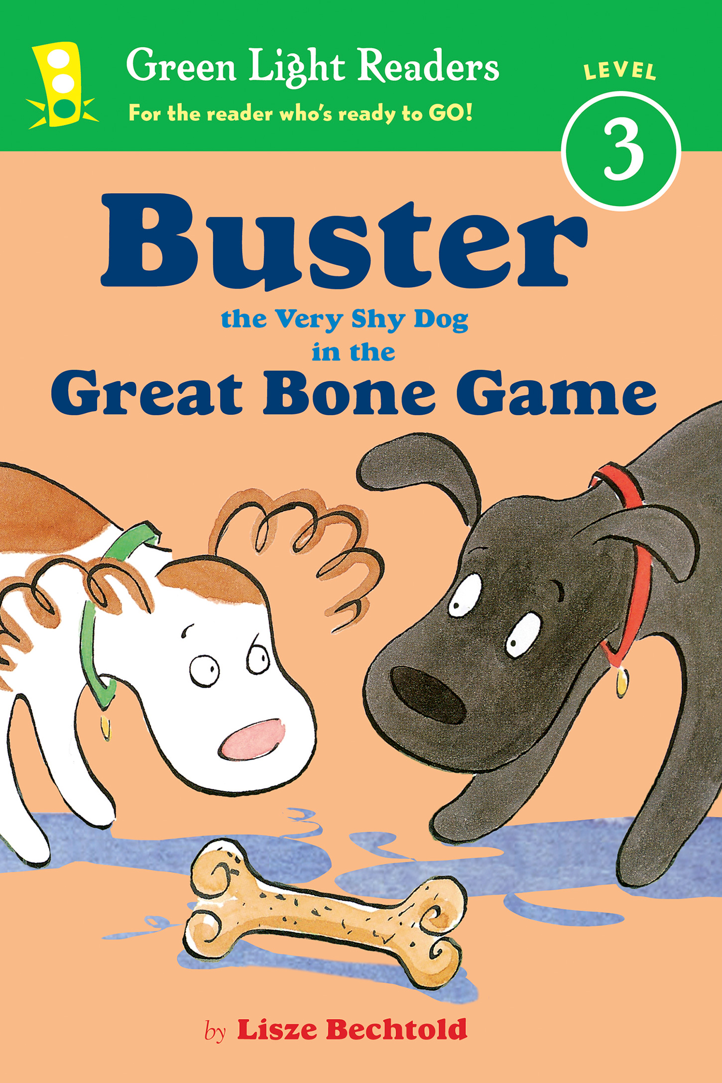 Buster the Very Shy Dog and the Great Bone Game-9780544668461
