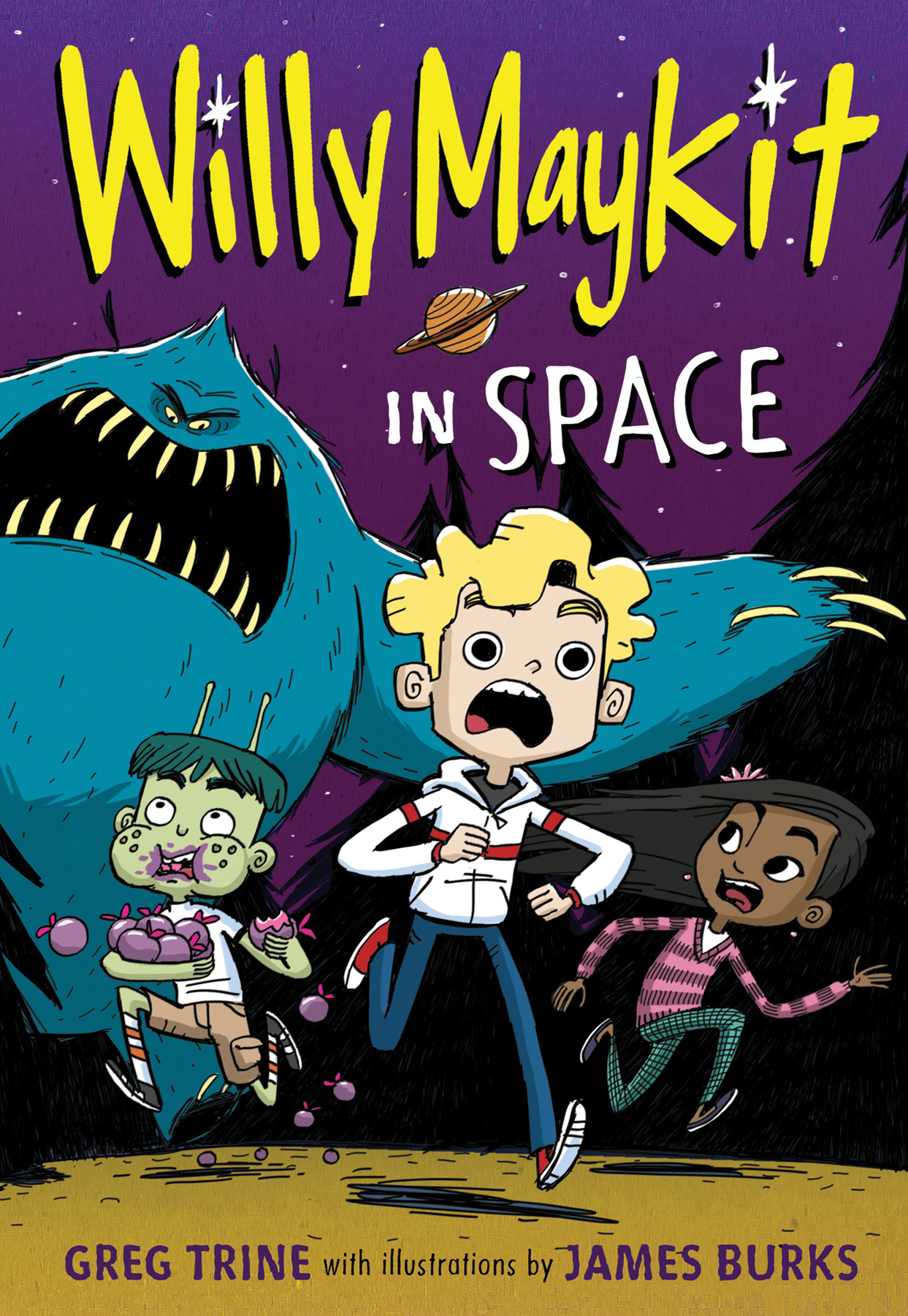 Willy Maykit in Space-9780544668485