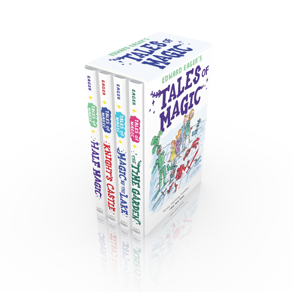 Tales of Magic Boxed Set-9780544671669