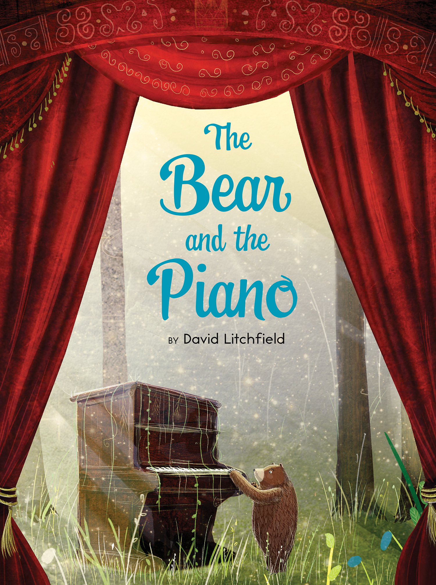 The Bear and the Piano-9780544674547