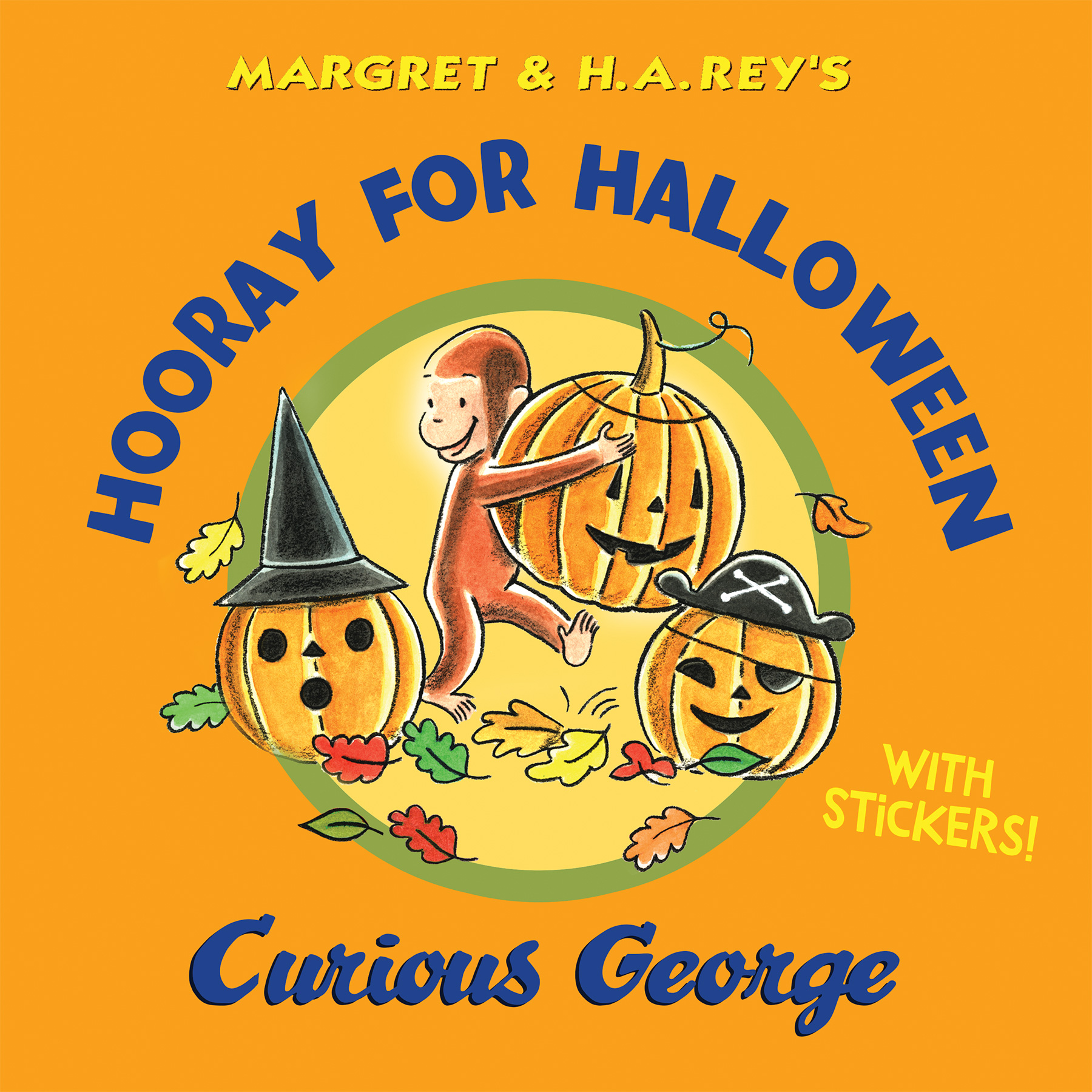Hooray for Halloween, Curious George-9780544699564
