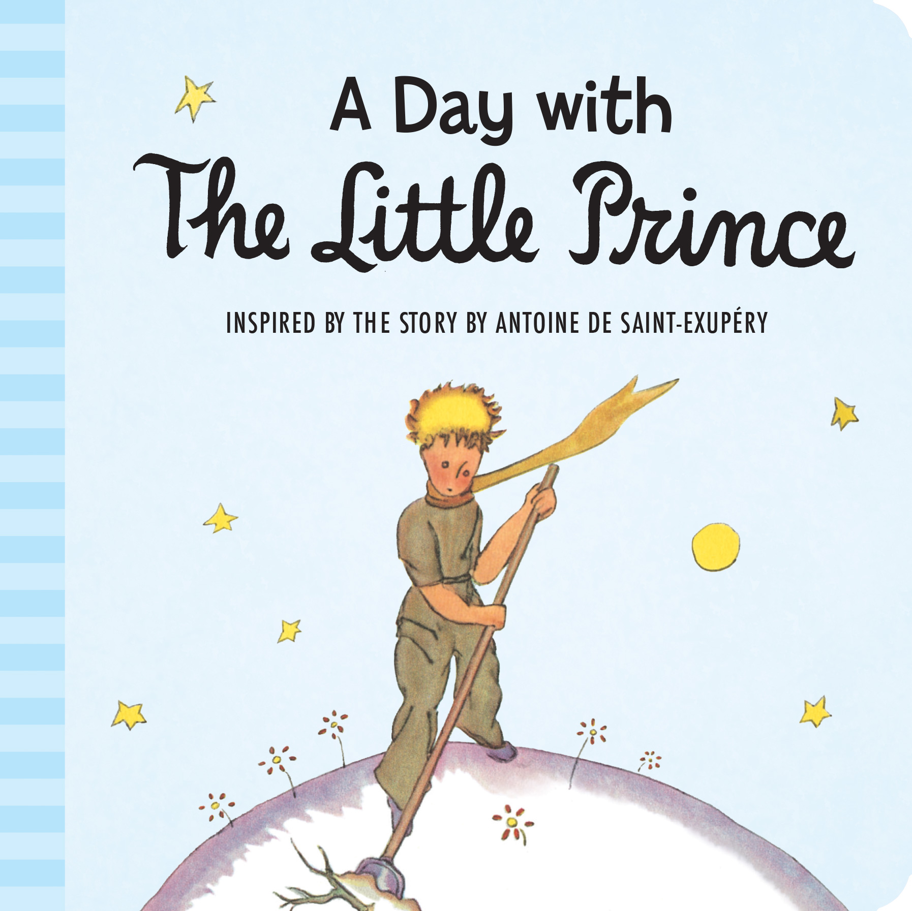 A Day with the Little Prince (padded board book)-9780544699588