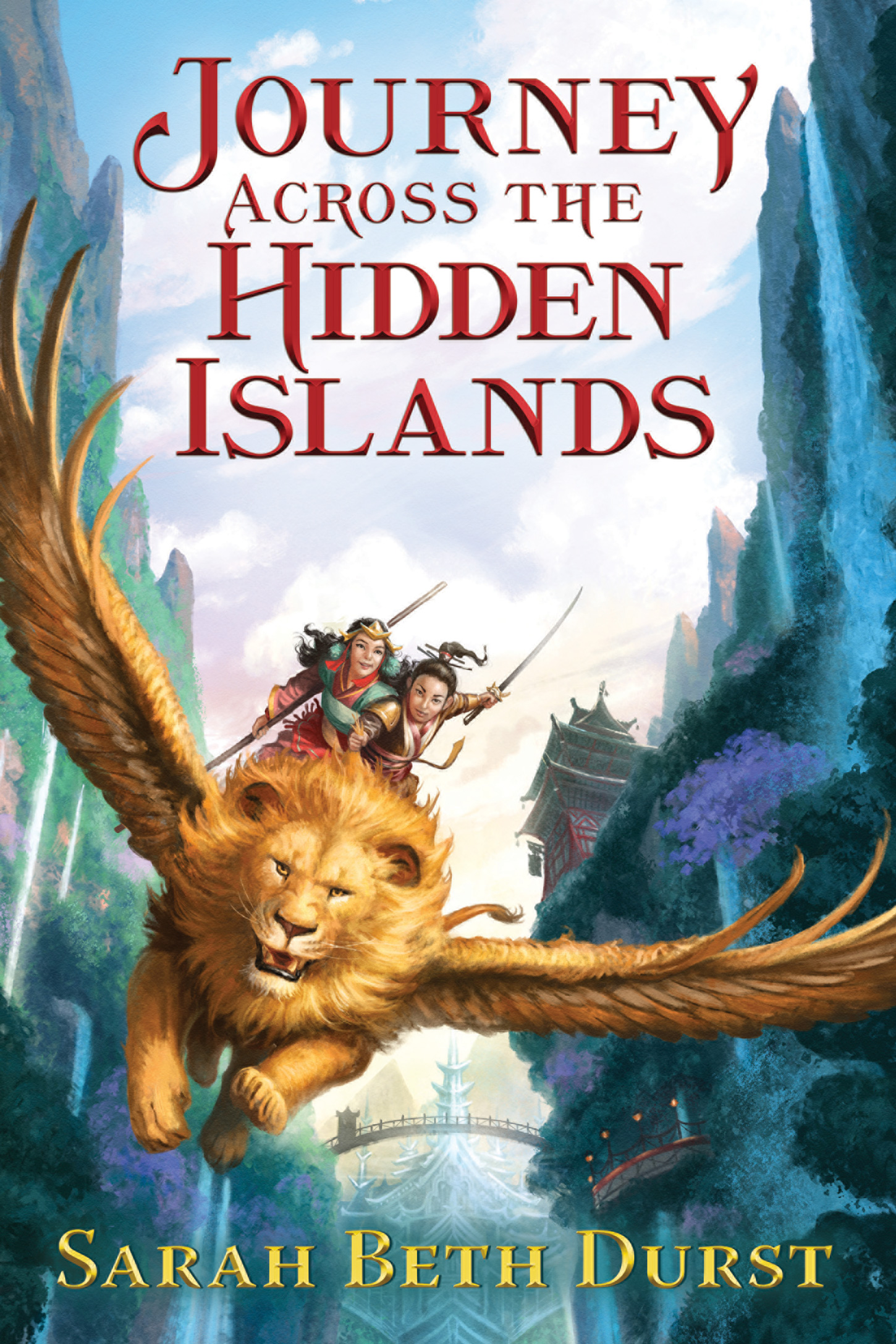 Journey Across the Hidden Islands-9780544706798