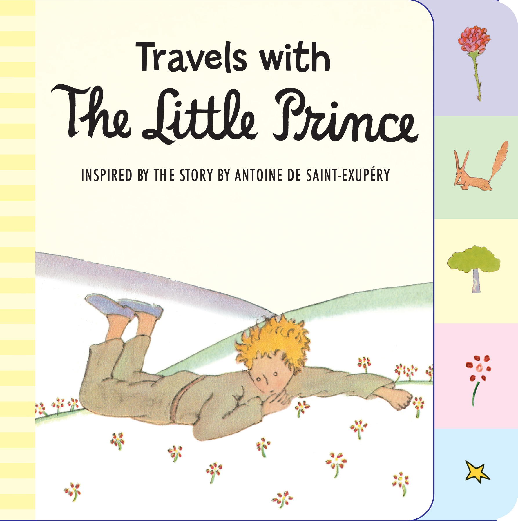 Travels with the Little Prince (tabbed board book)-9780544709010