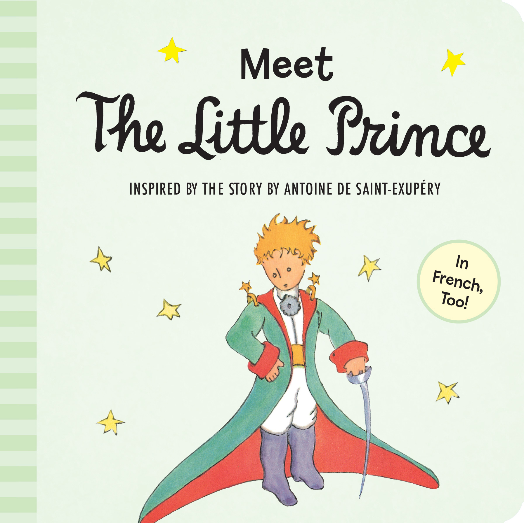 Meet the Little Prince (padded board book)-9780544709027