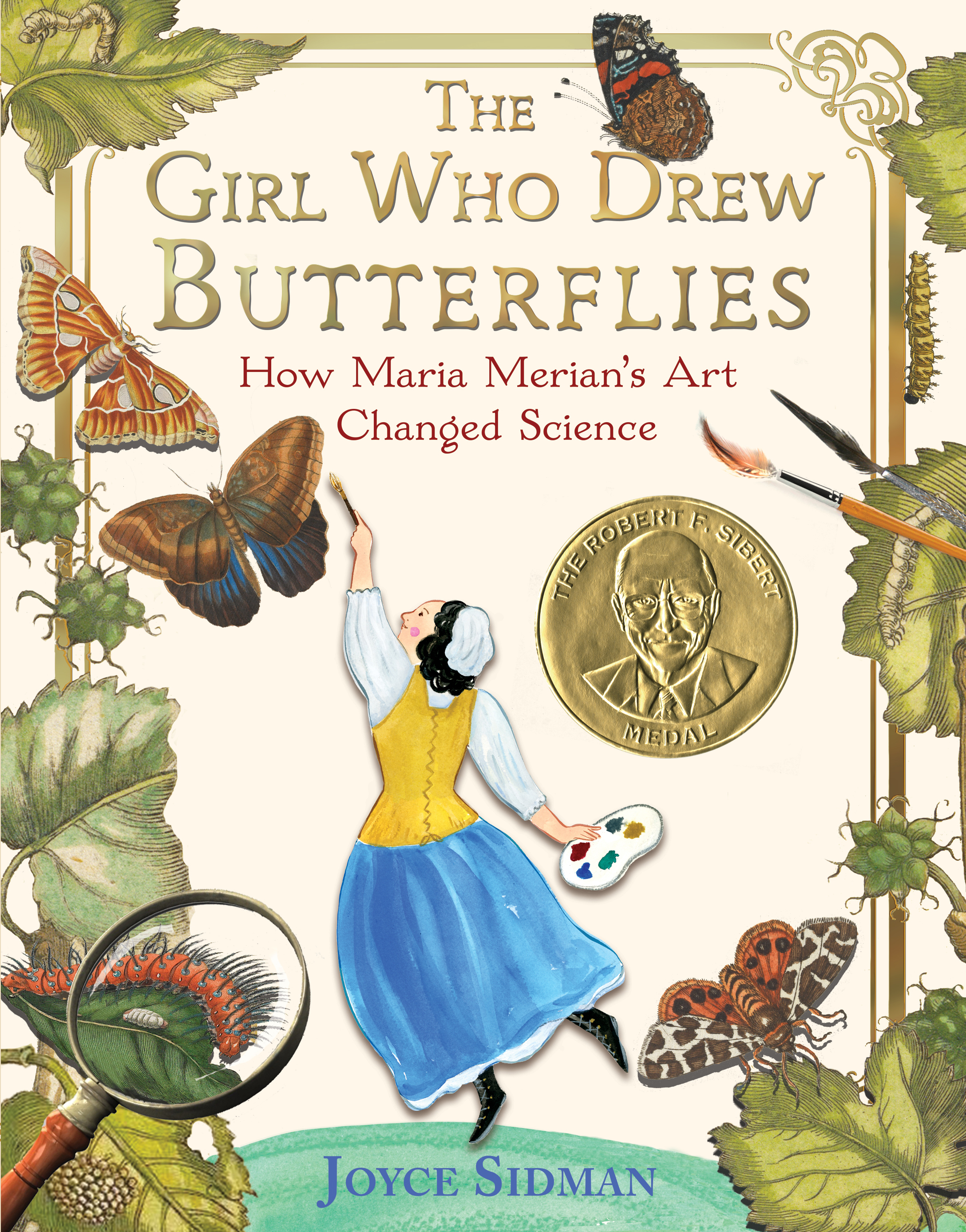 The Girl Who Drew Butterflies-9780544717138