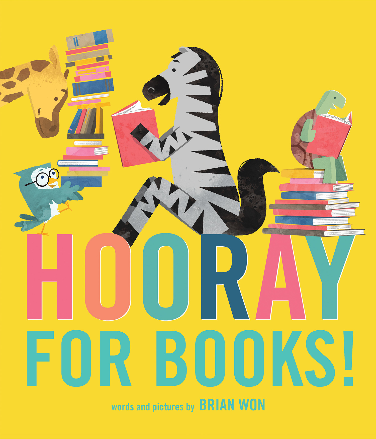 Hooray for Books!-9780544748026