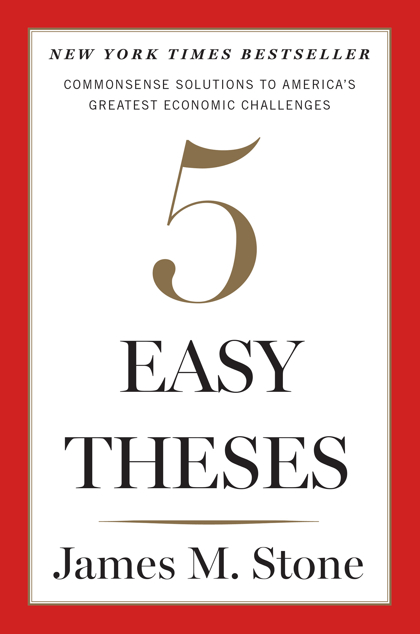 Five Easy Theses-9780544749009