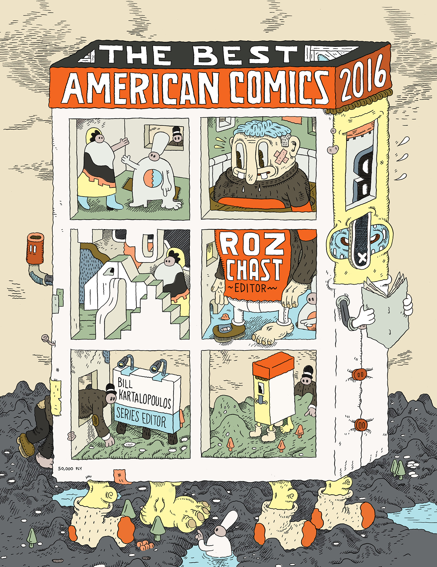 The Best American Comics 2016-9780544750357