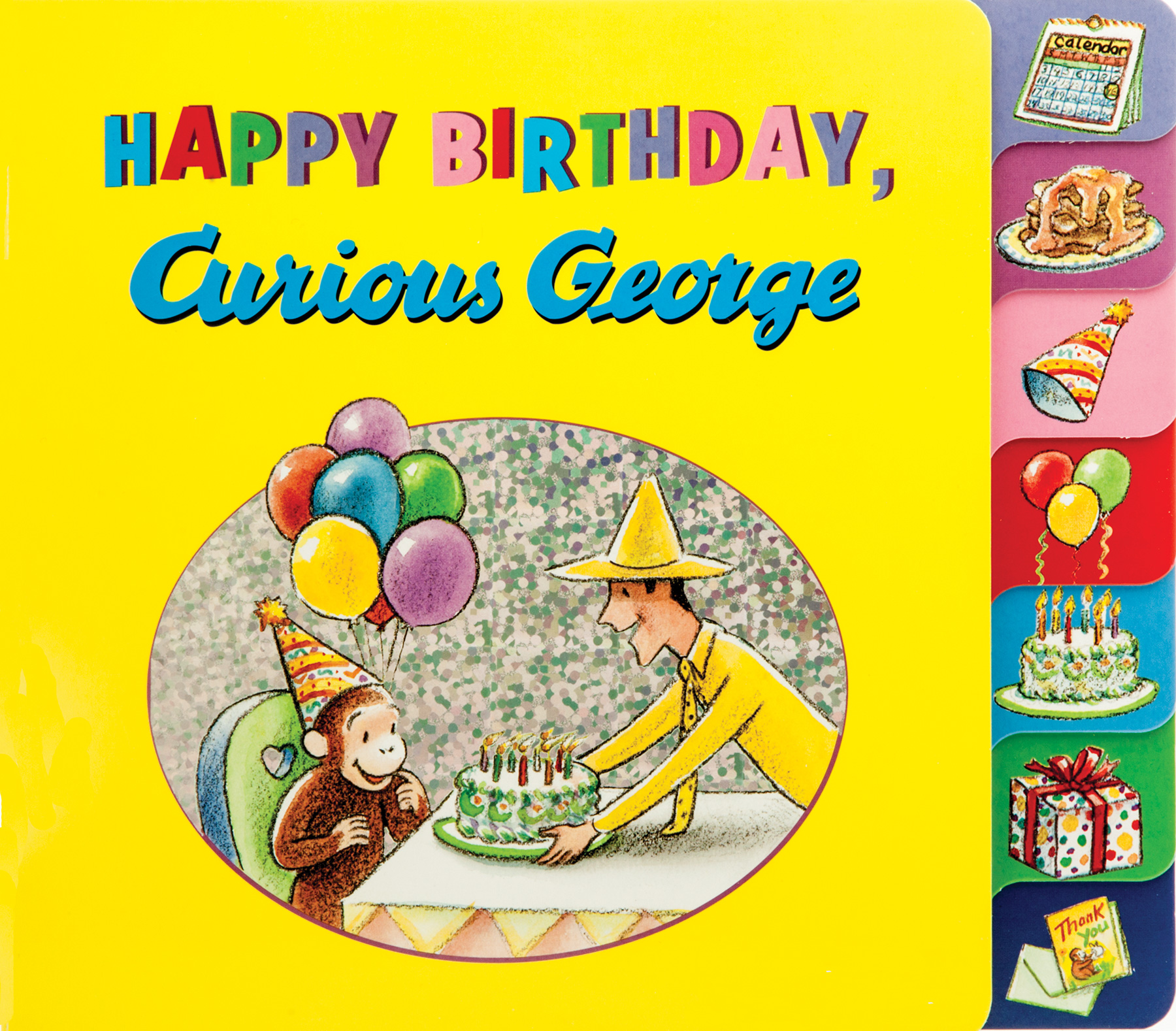 Happy Birthday, Curious George-9780544750500
