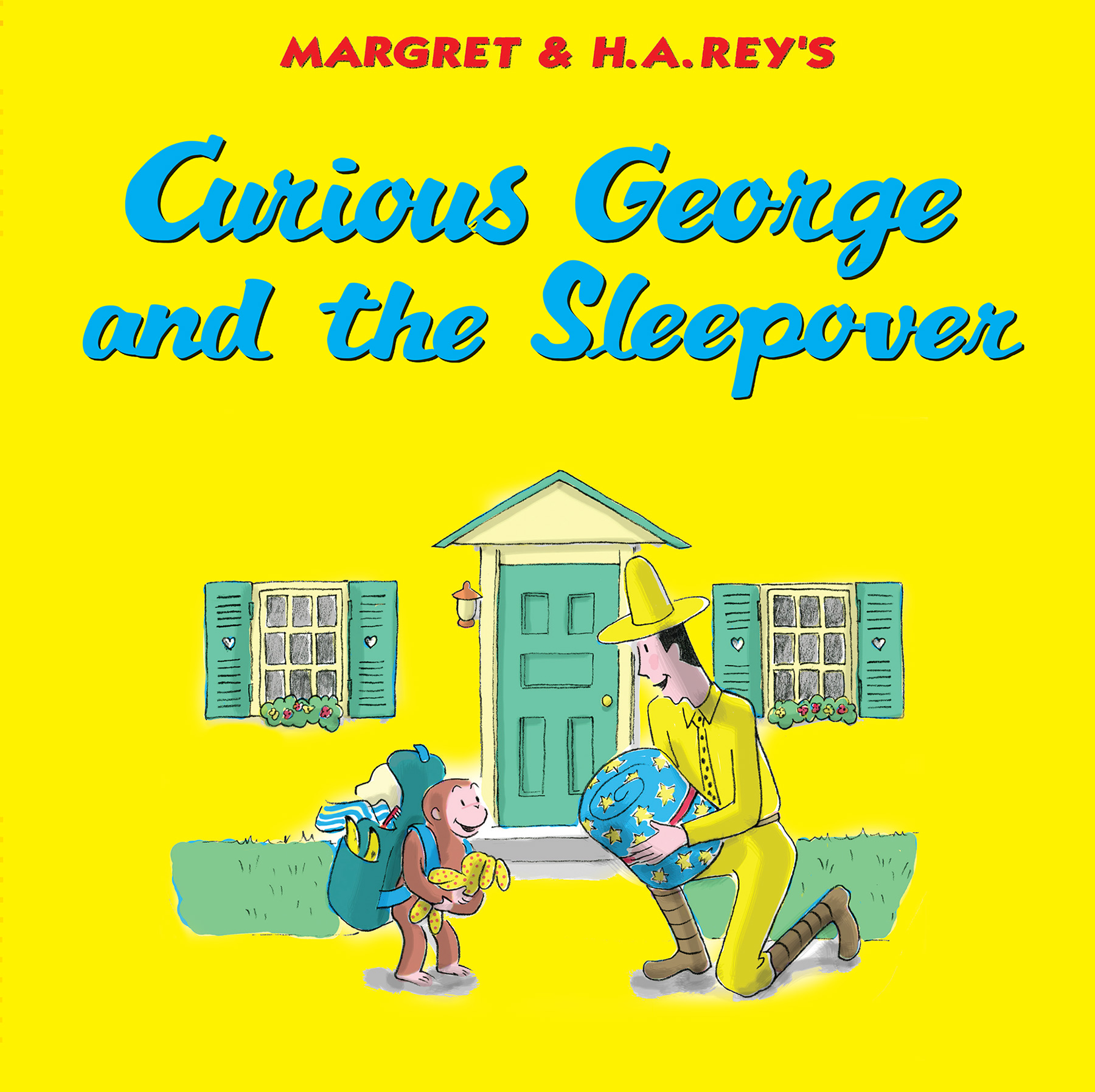 Curious George and the Sleepover-9780544763463