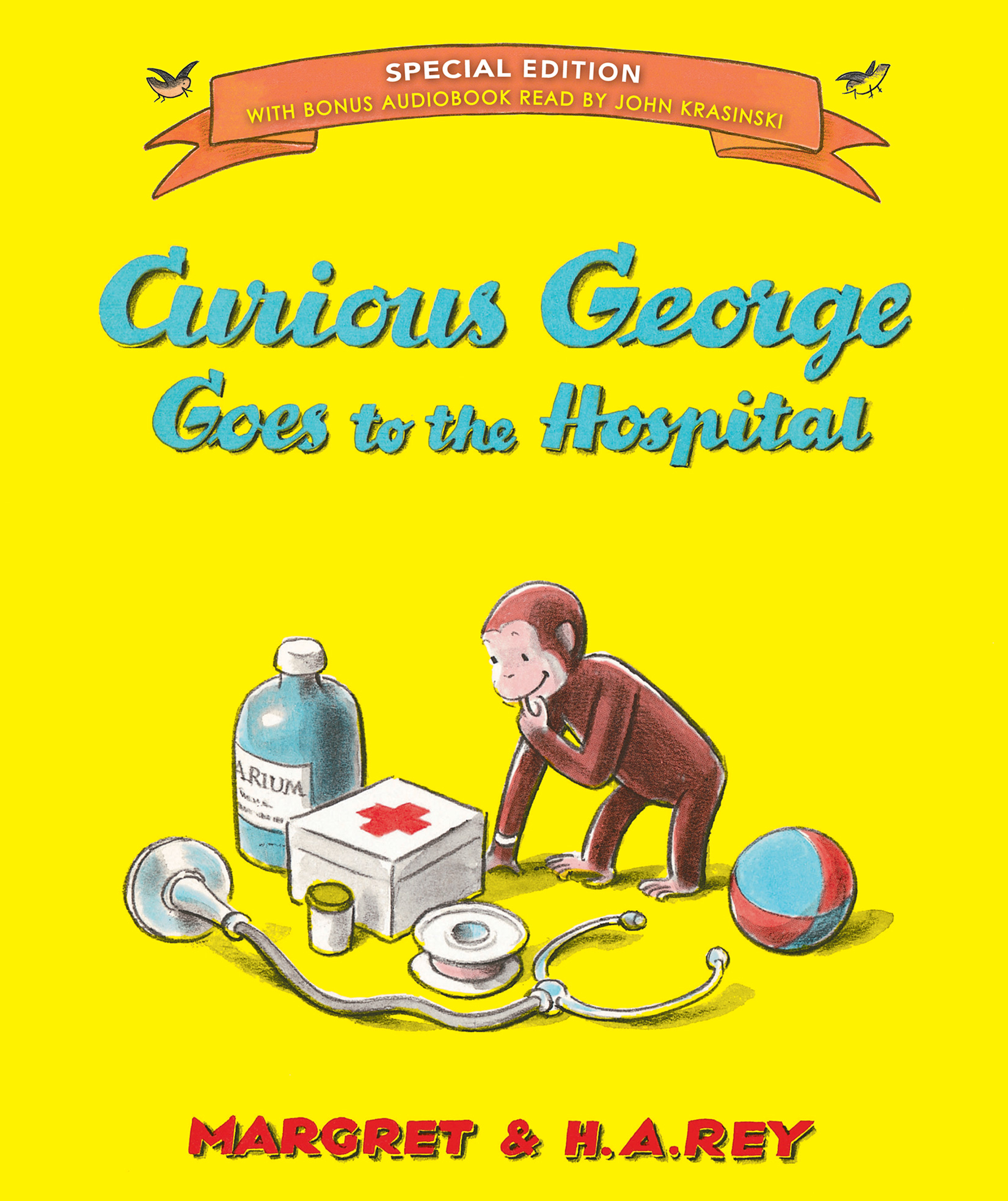 Curious George Goes to the Hospital (Special Edition)-9780544764088