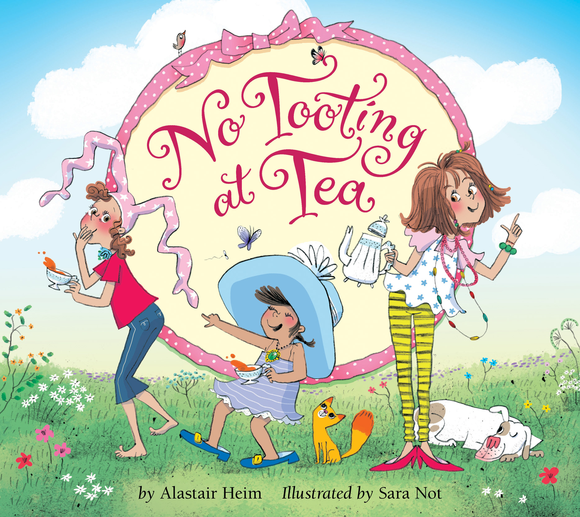 No Tooting at Tea-9780544774742
