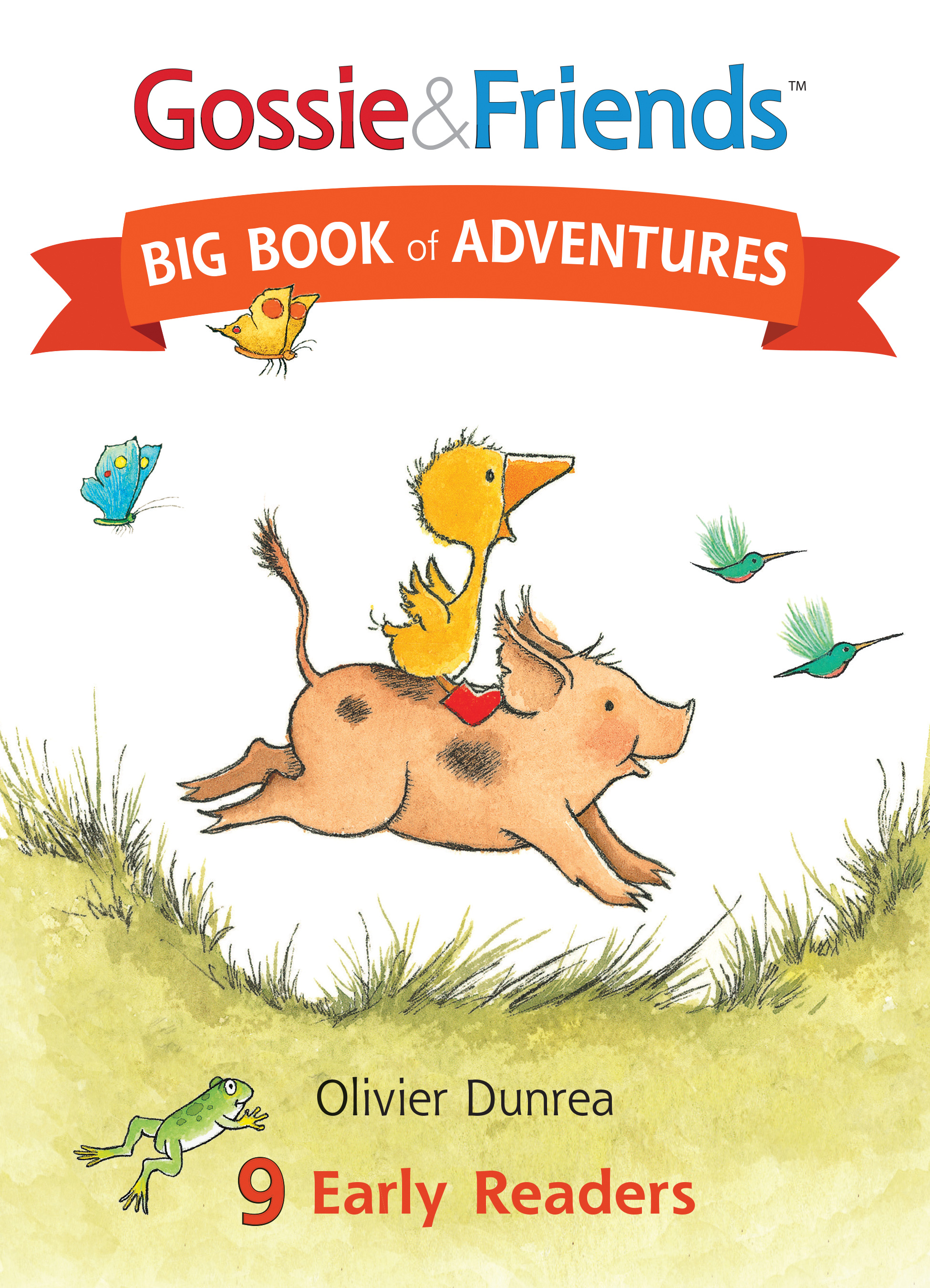 Gossie & Friends Big Book of Adventures-9780544779808