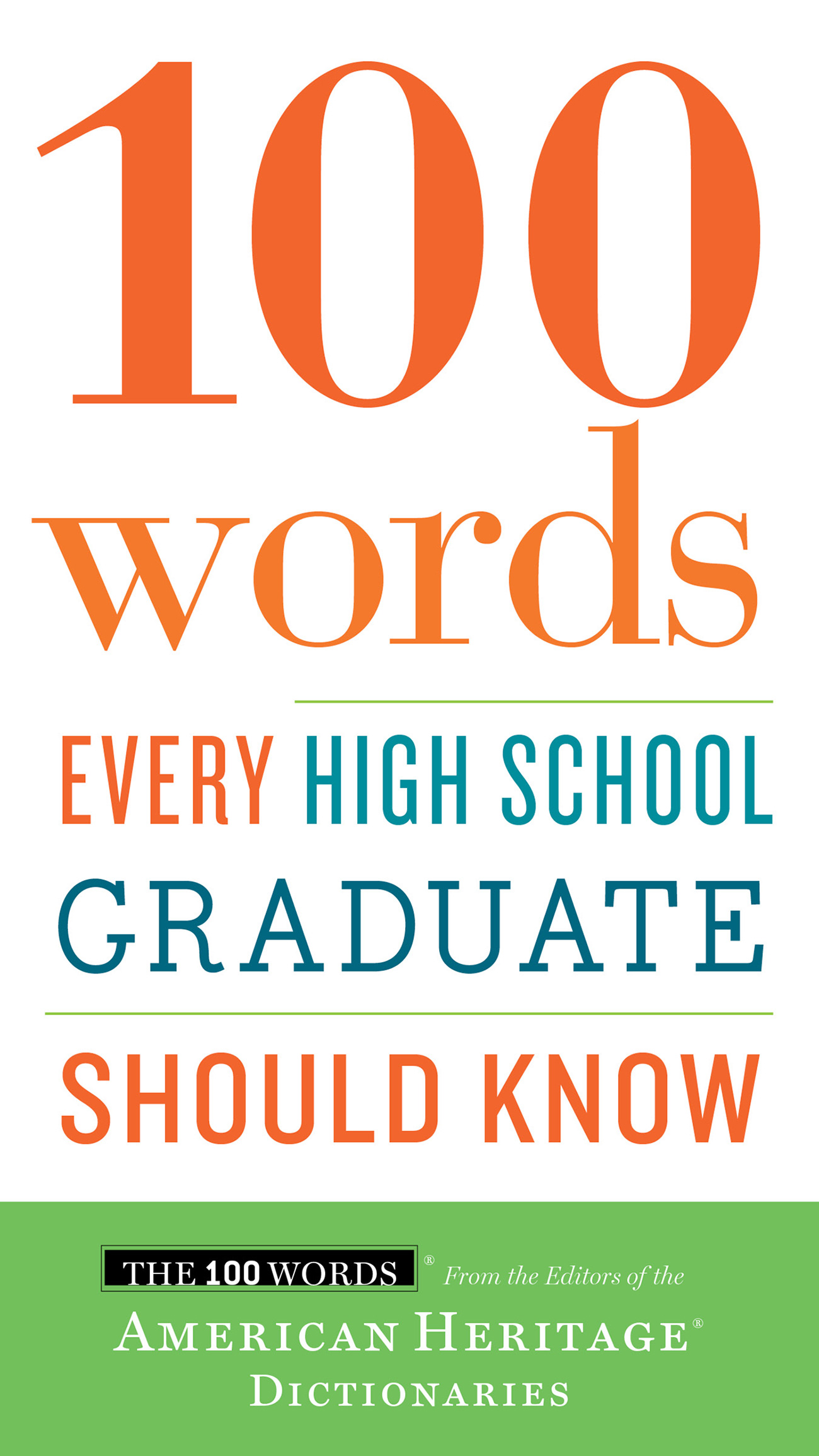 100 Words Every High School Graduate Should Know-9780544789890