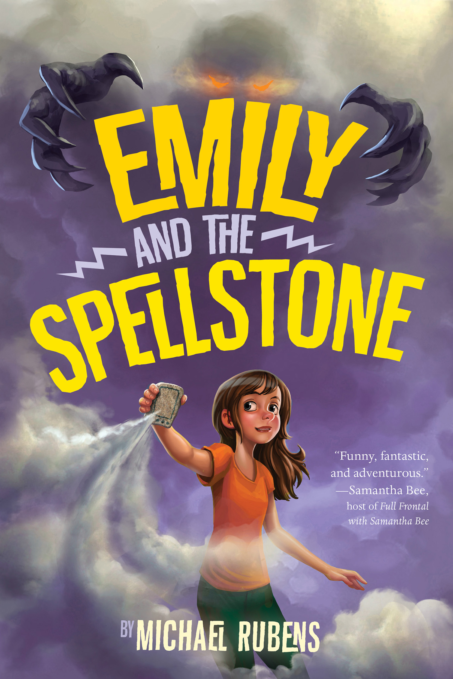 Emily and the Spellstone-9780544790865