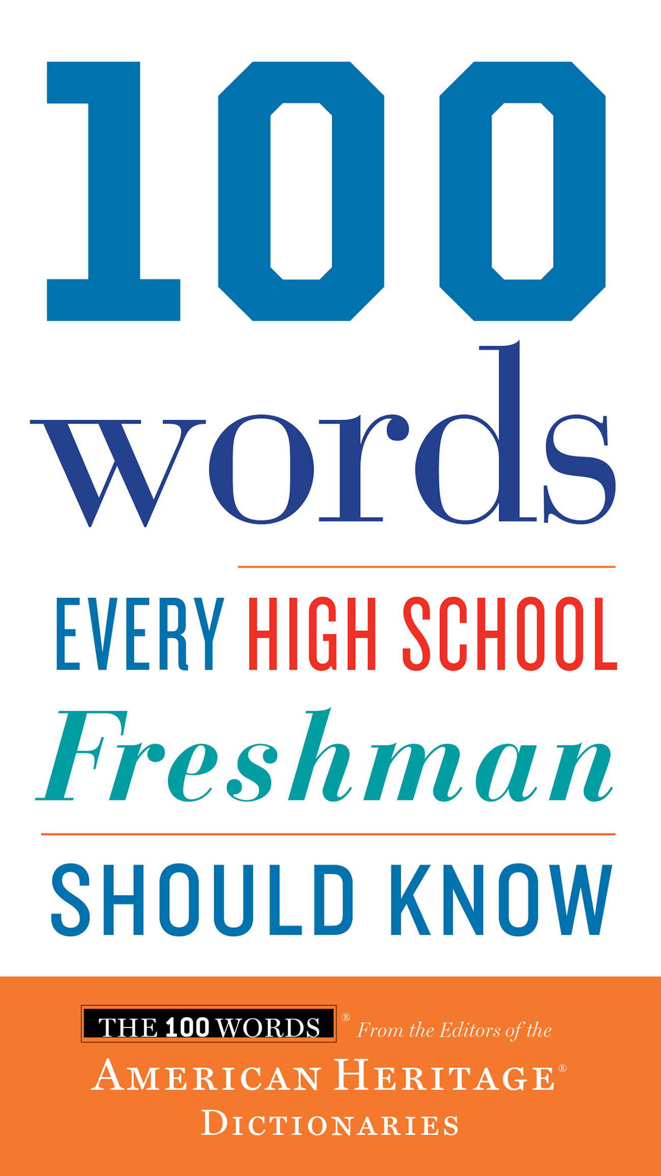 100 Words Every High School Freshman Should Know-9780544791183