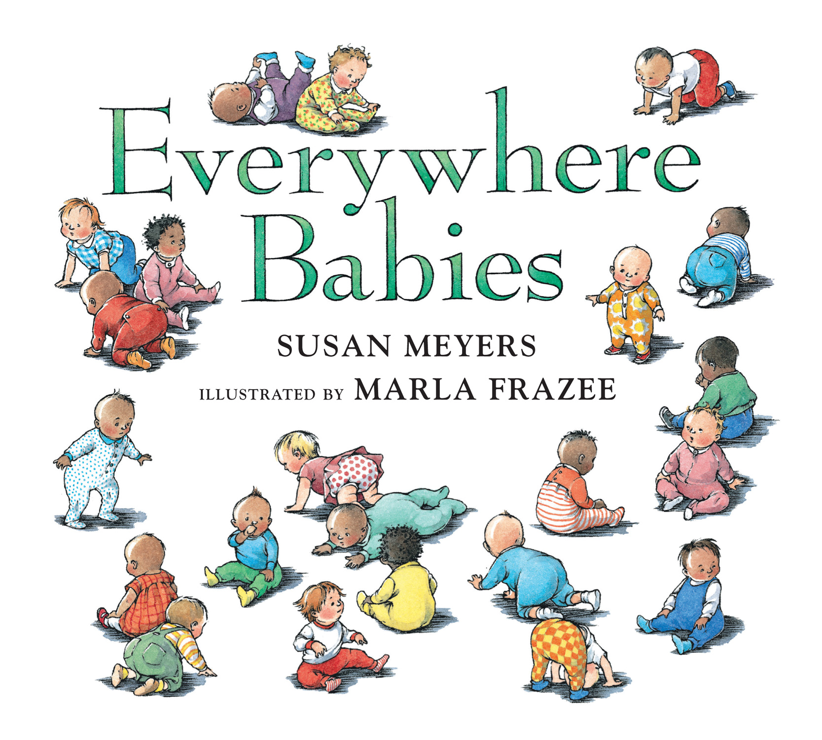 Everywhere Babies (Padded Board Book)-9780544791206