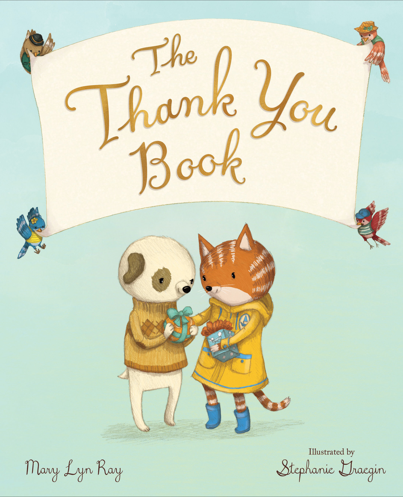 The Thank You Book-9780544791367