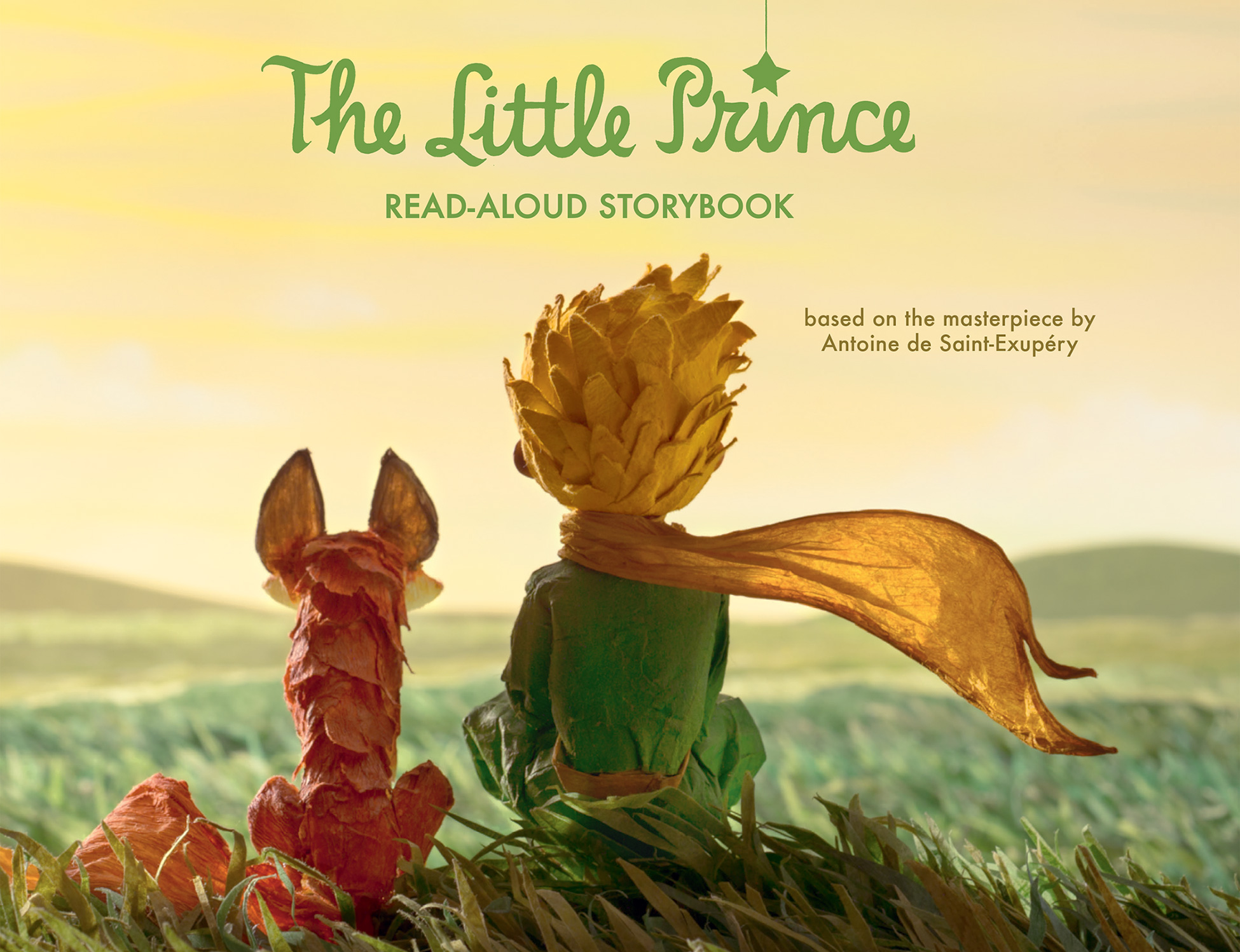 The Little Prince Read-Aloud Storybook-9780544792555