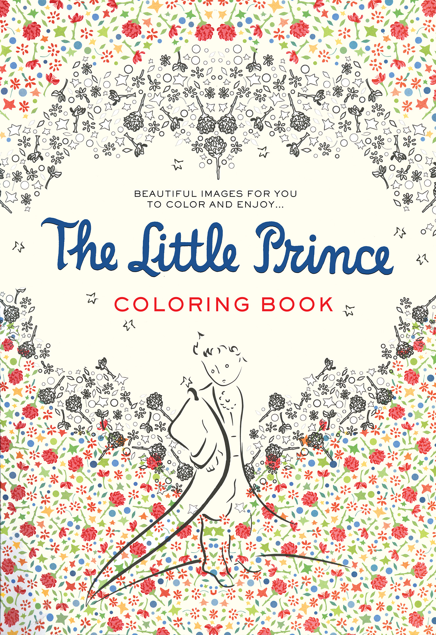 The Little Prince Coloring Book-9780544792586