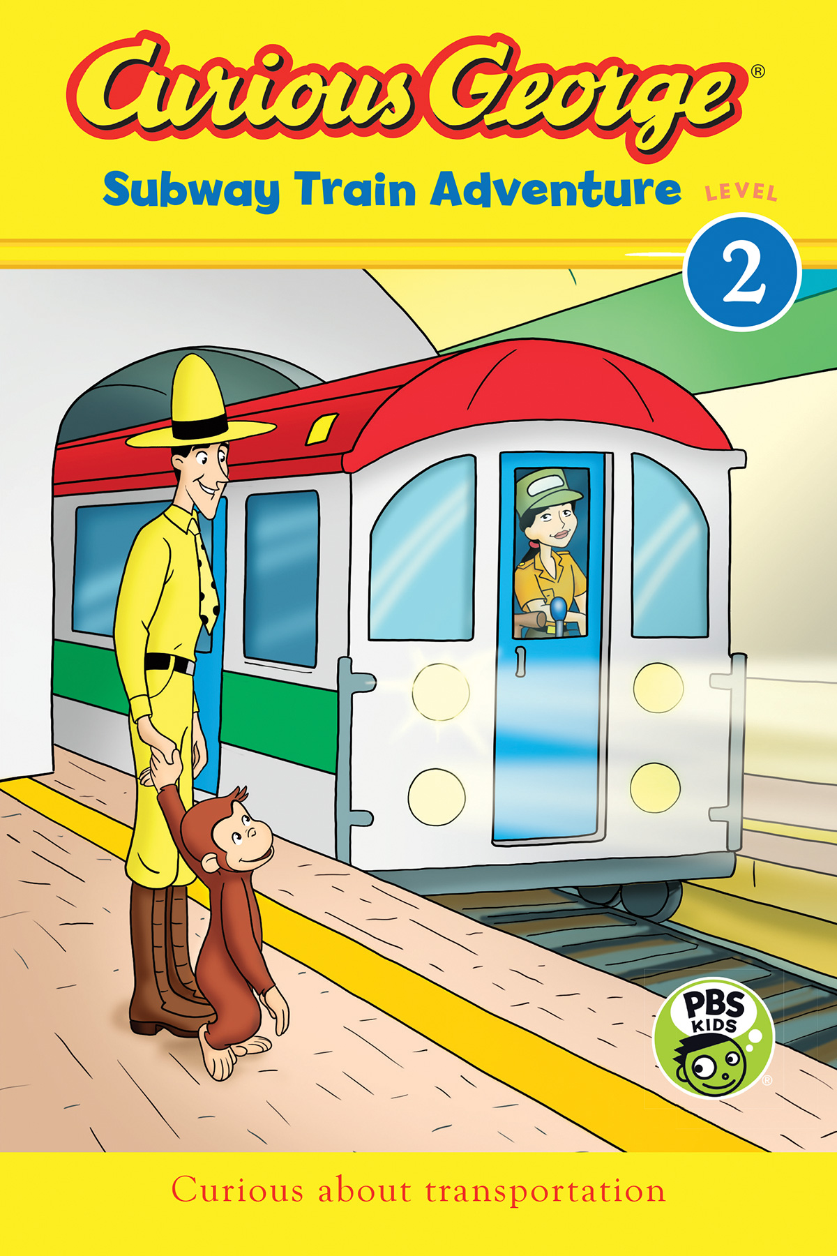 Curious George Subway Train Adventure (CGTV Reader)-9780544800328