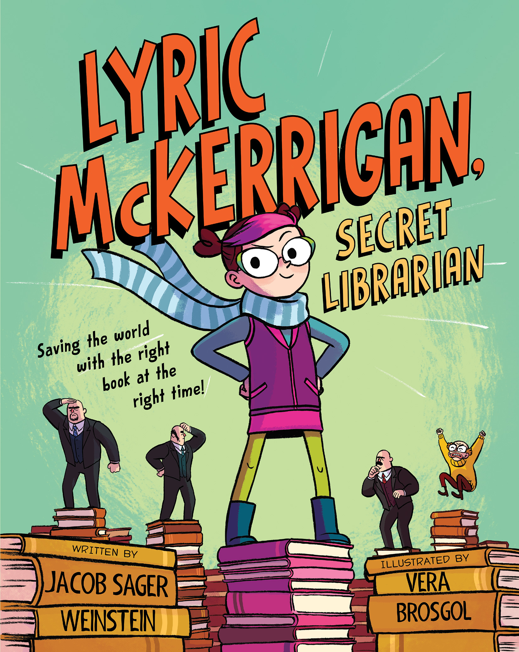 Lyric McKerrigan, Secret Librarian-9780544801226