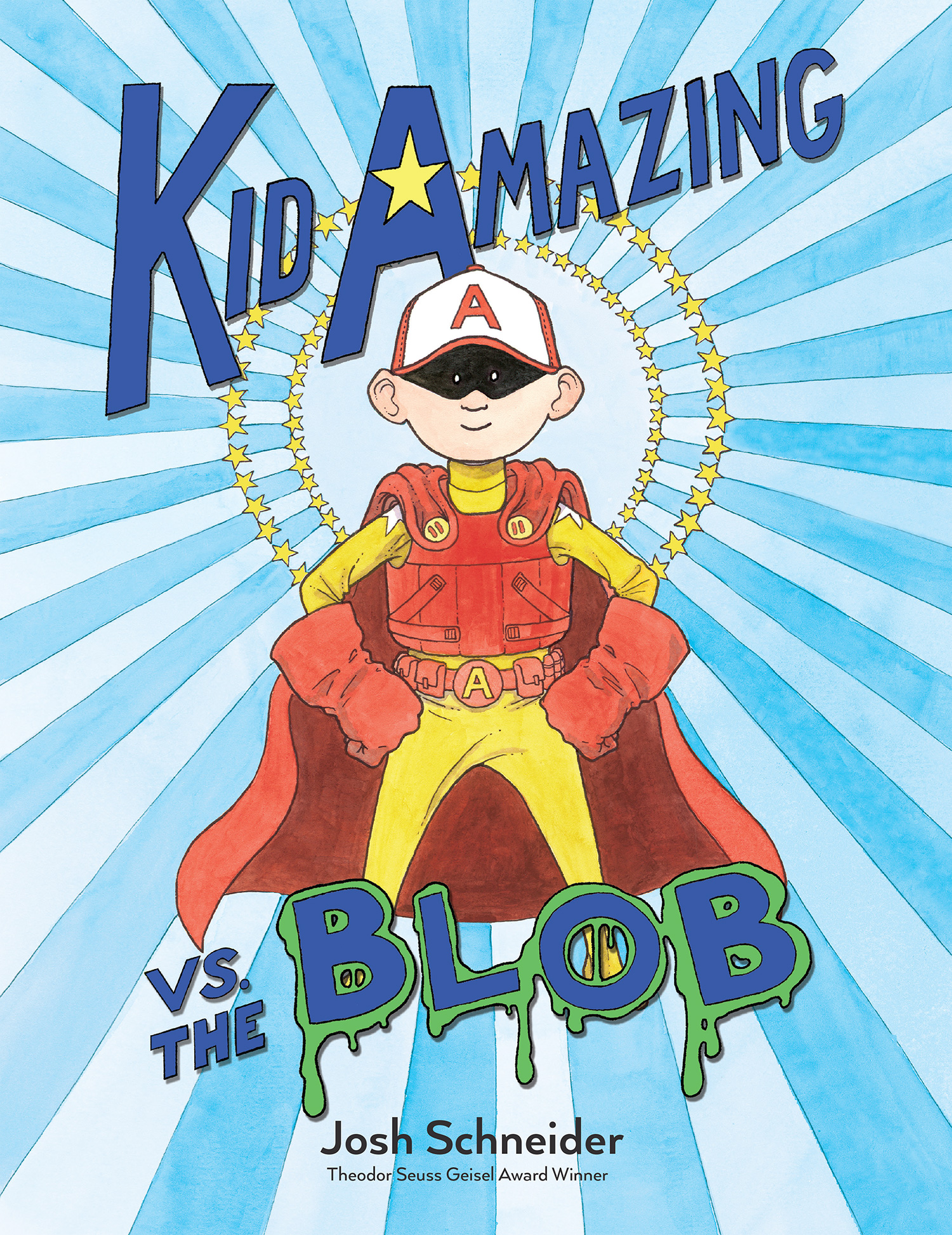 Kid Amazing vs. the Blob-9780544801257
