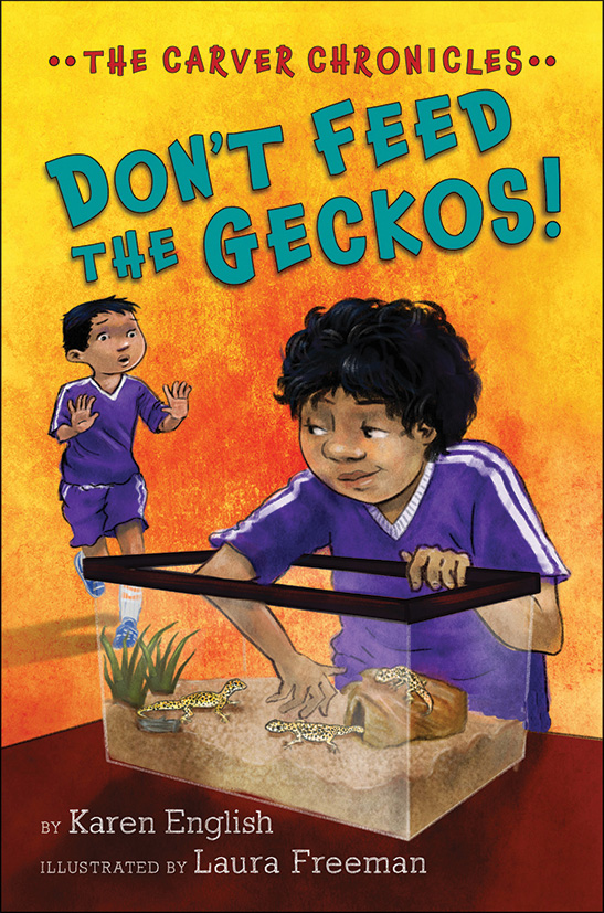 Don't Feed the Geckos!-9780544810839