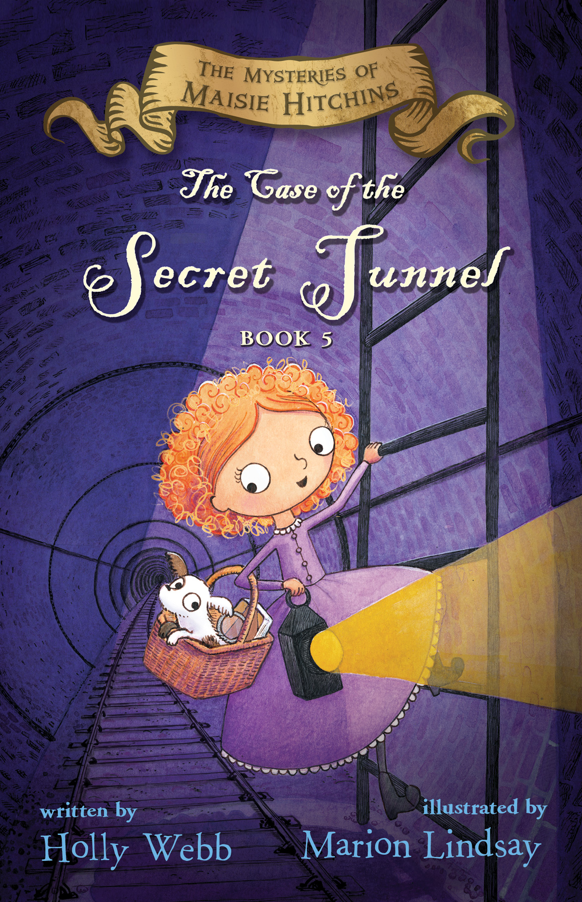The Case of the Secret Tunnel-9780544815544